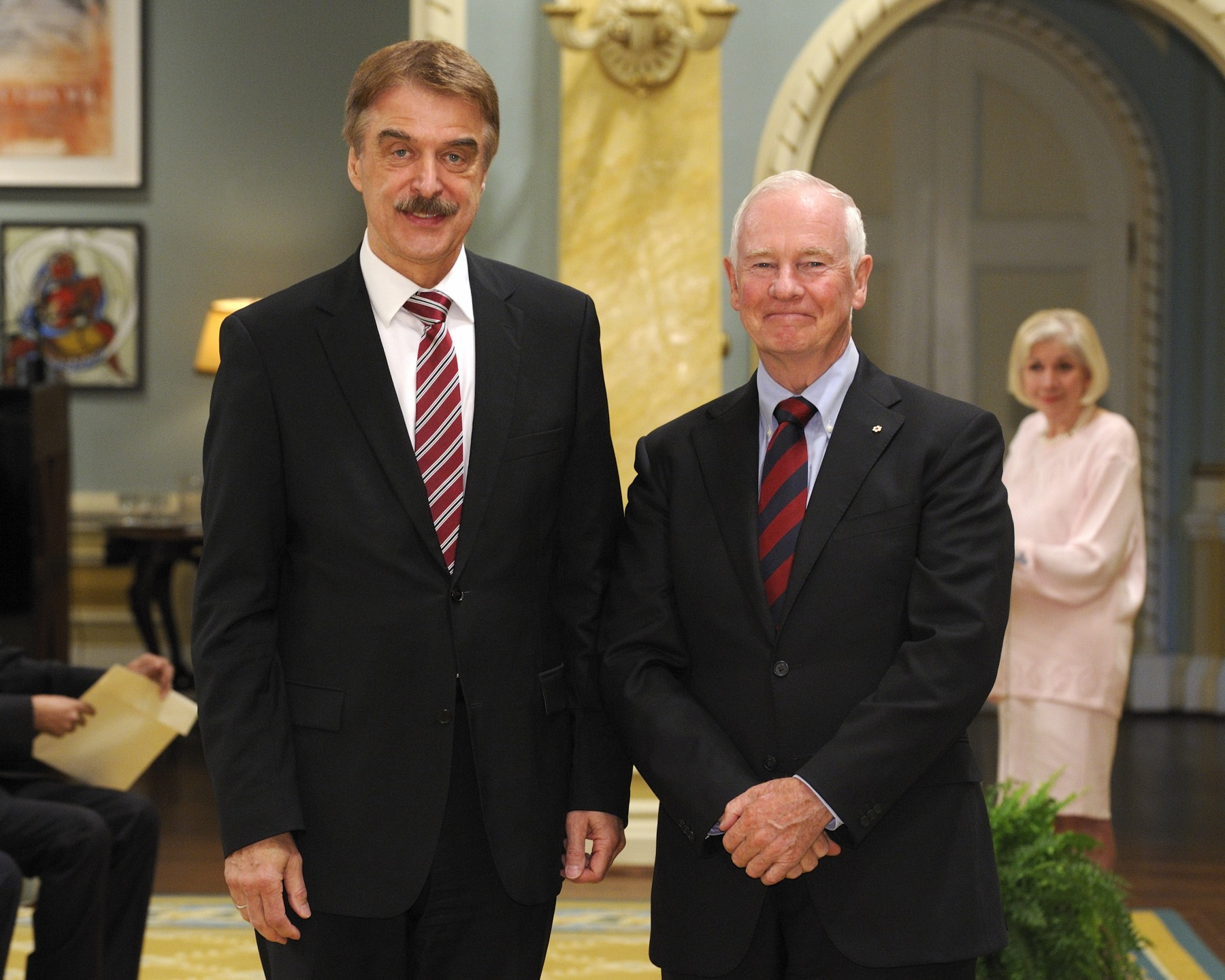 The Governor General received the credentials of His Excellency Werner Franz Wnendt, Ambassador of the Federal Republic of Germany.