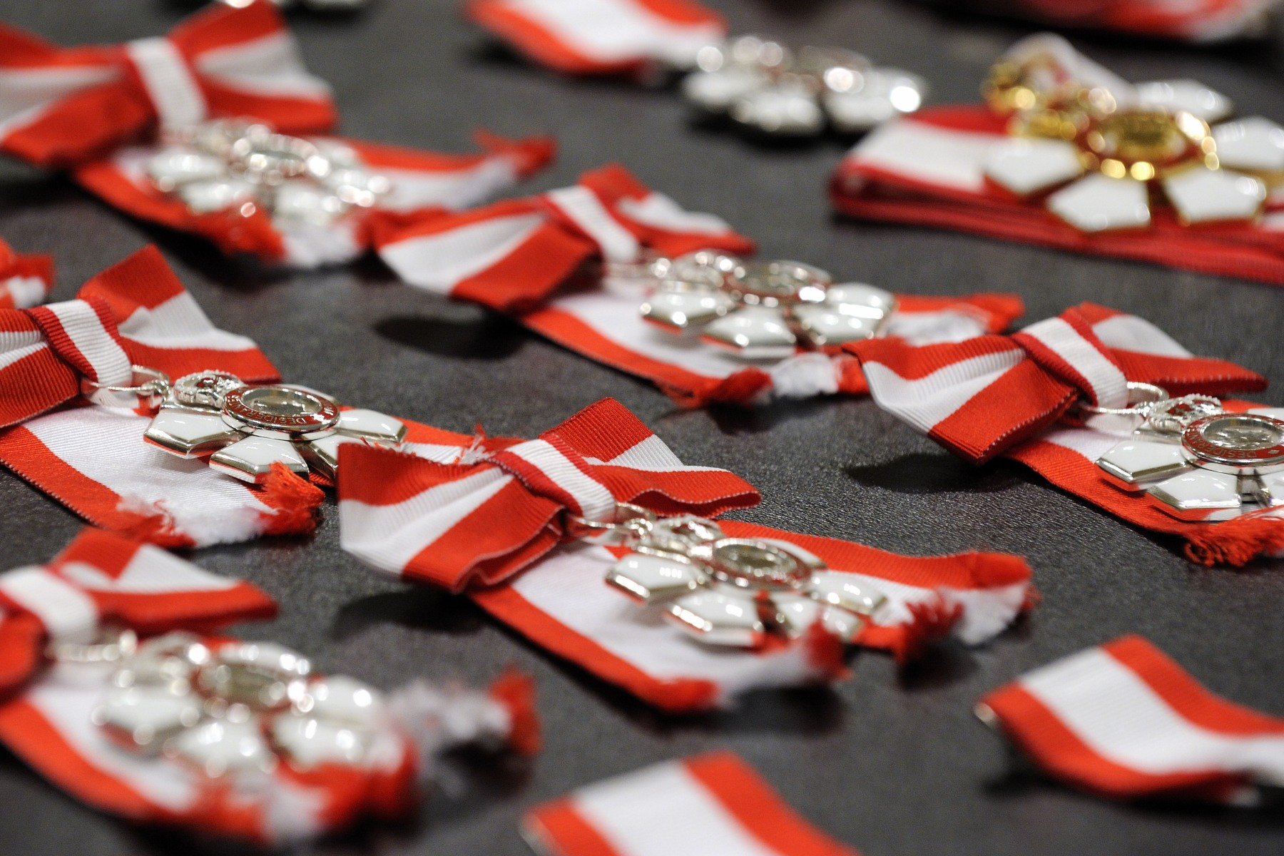 On September 28, 2012, the Governor General, who is chancellor and Principal Companion of the Order of Canada, bestowed the honour on 27 Members, 15 Officers and 1 Companion, at Rideau Hall.
