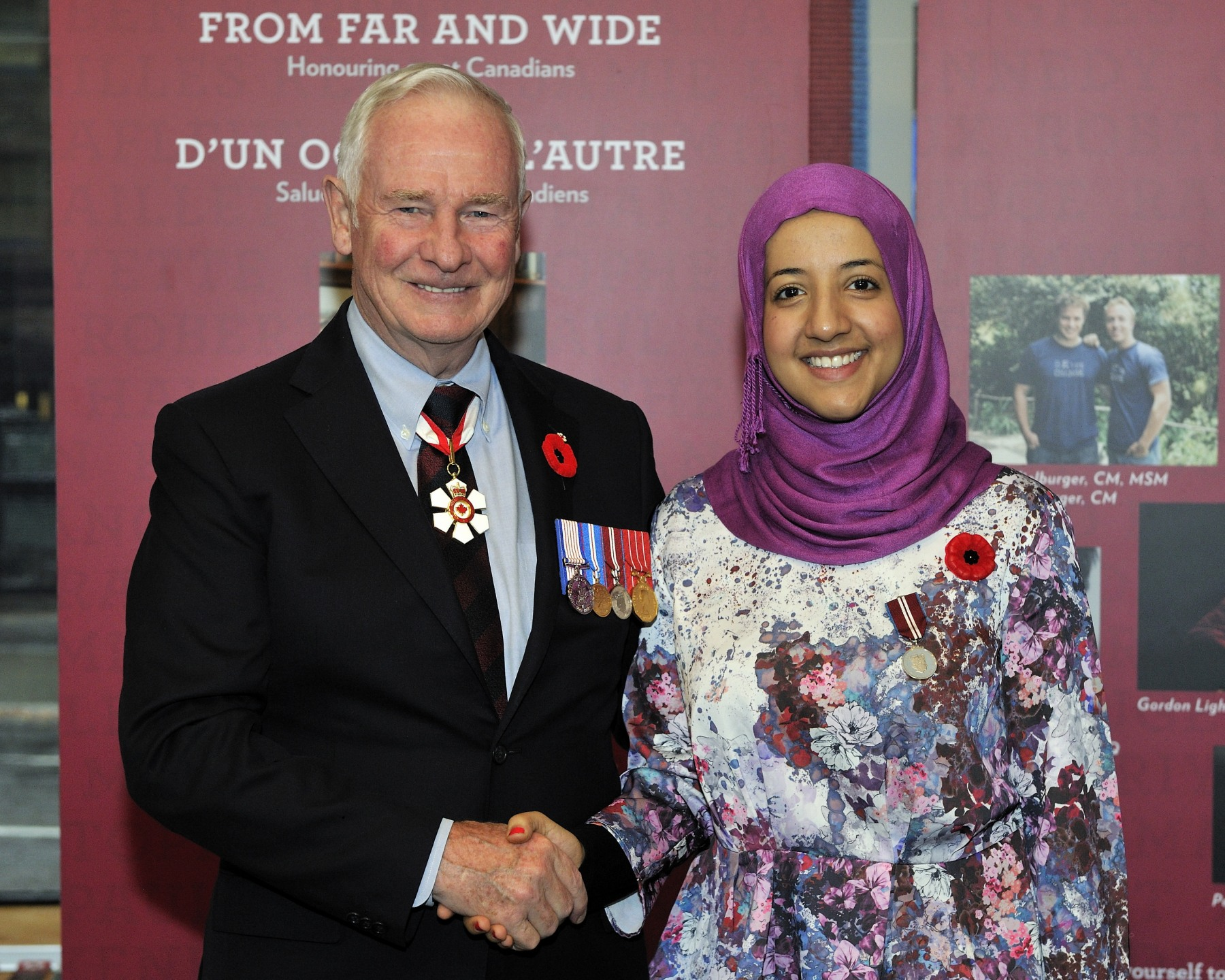 Rasha Al-Katta (Ottawa, Ontario) is recognized for her community service and her active volunteer work with United Way Ottawa.