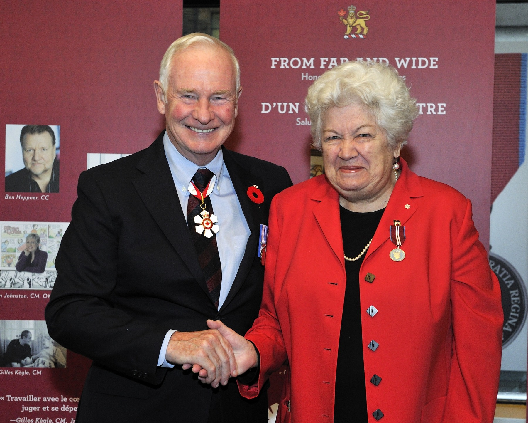 The Honourable Monique Bégin, P.C., O.C. (Ottawa, Ontario) is recognized for her active role in the fight for the rights of the less fortunate, and for the rights of women, senior citizens, Aboriginal people and children.