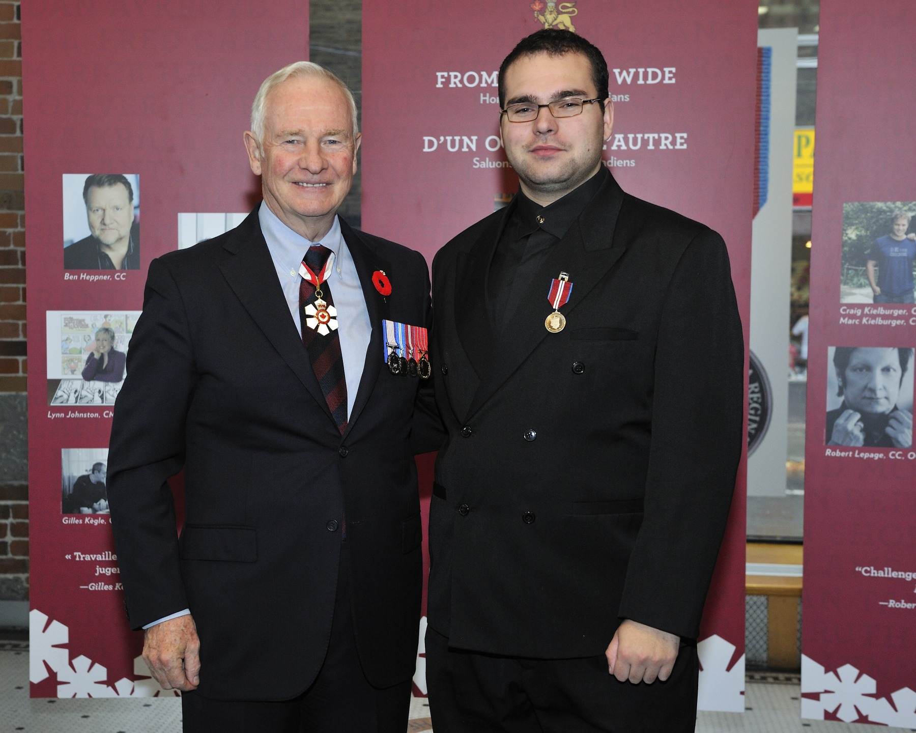 Pyer-Luc Parent (Saint-Georges de Beauce, Quebec) is recognized for his 5 000 volunteer hours of community work with St. John Ambulance, which he joined when he was just 12 years old.