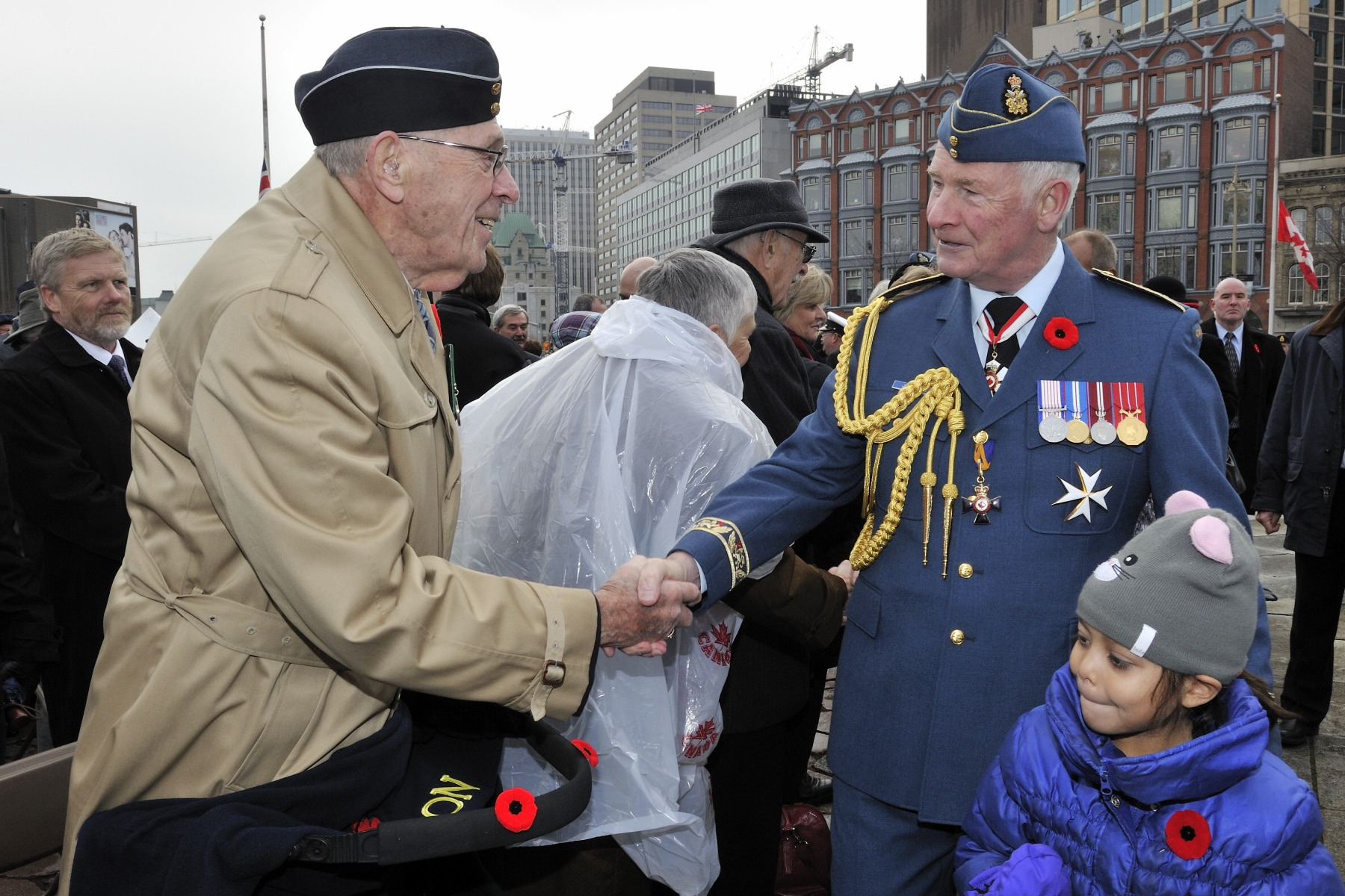 His Excellency took the time to speak with veterans and personally thank them for their service to our country.