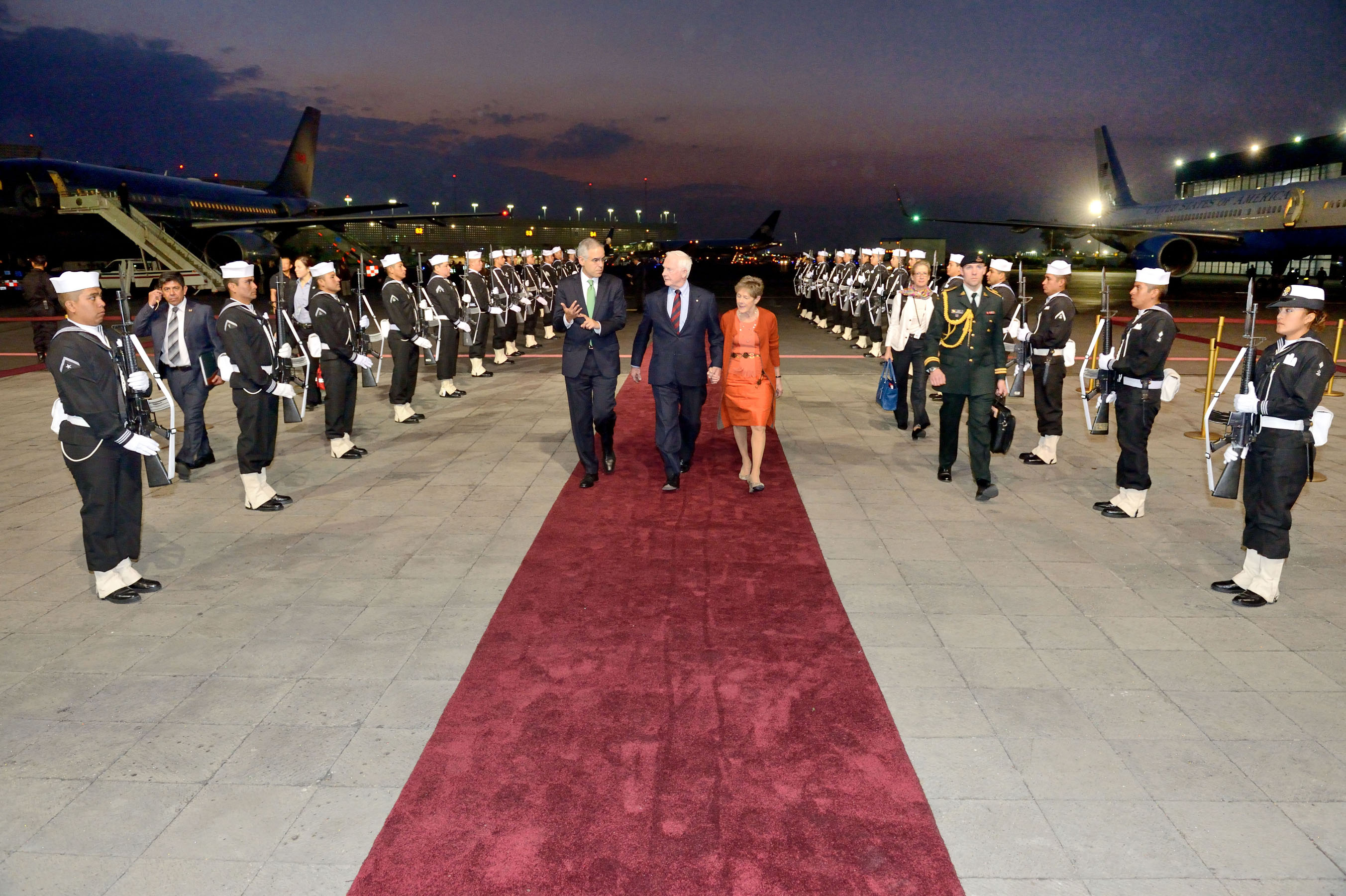 After Querétaro, Their Excellencies went to Mexico City.