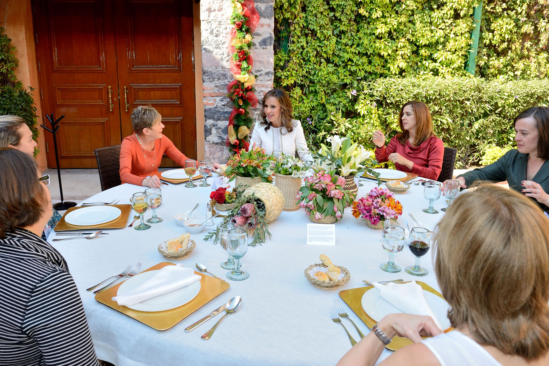 Her Excellency really enjoyed the time she spent with the First Lady of Querétaro.