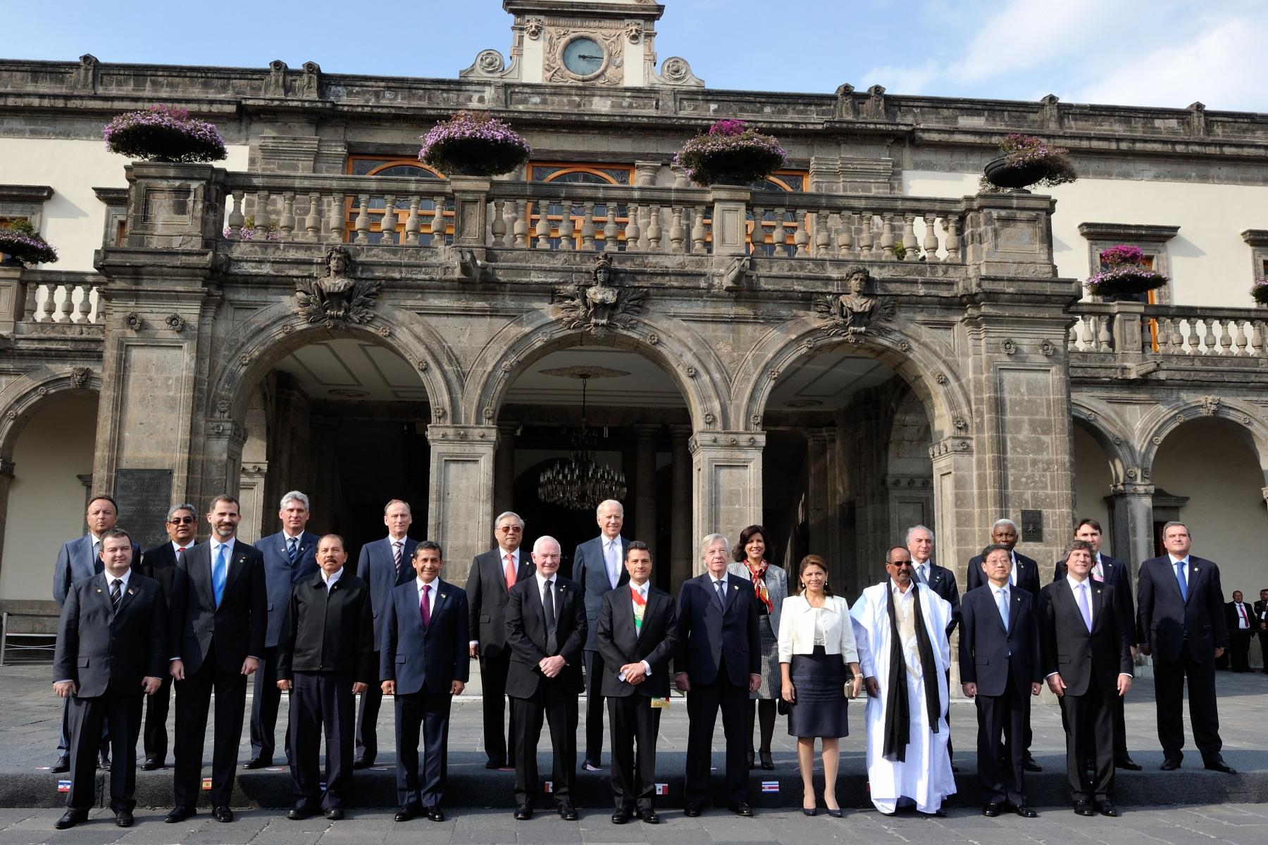 Following the inauguration, Their Excellencies also represented Canada at a state luncheon hosted by the new president, at Chapultepec Castle.