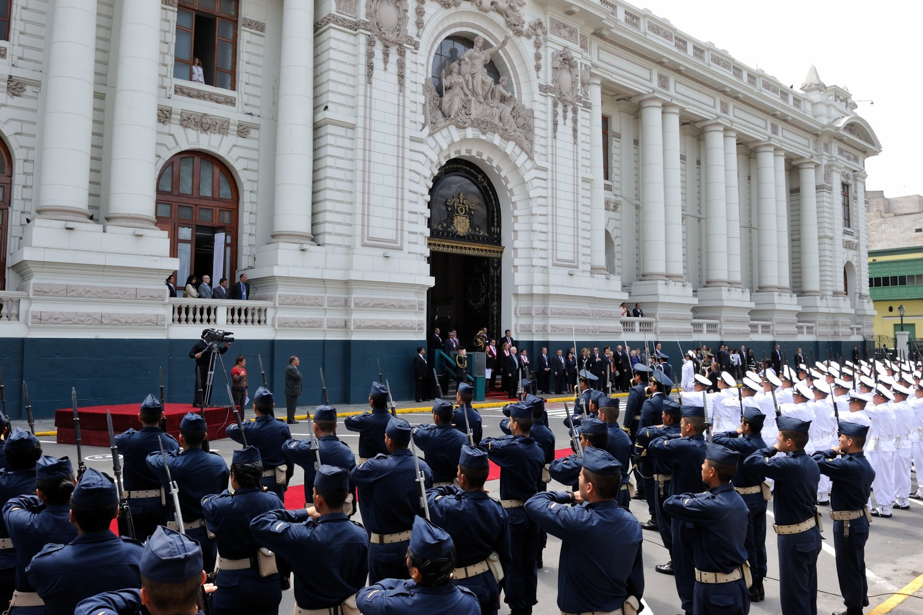 The meeting was held at the Congress of the Republic of Peru