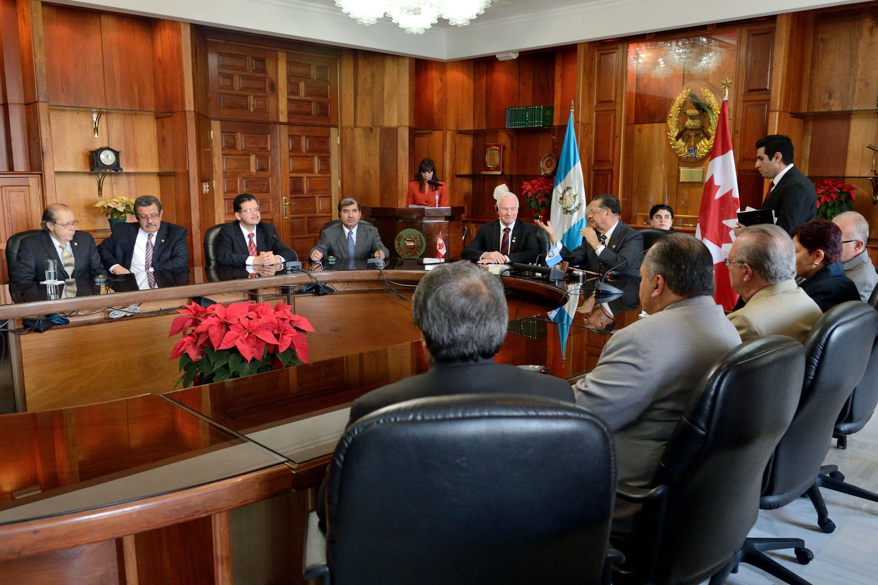 His Excellency also met with the newly elected Supreme Court magistrates to discuss the Canada's ongoing engagement in helping to strengthen Guatemala's systems of governance and rule of law.