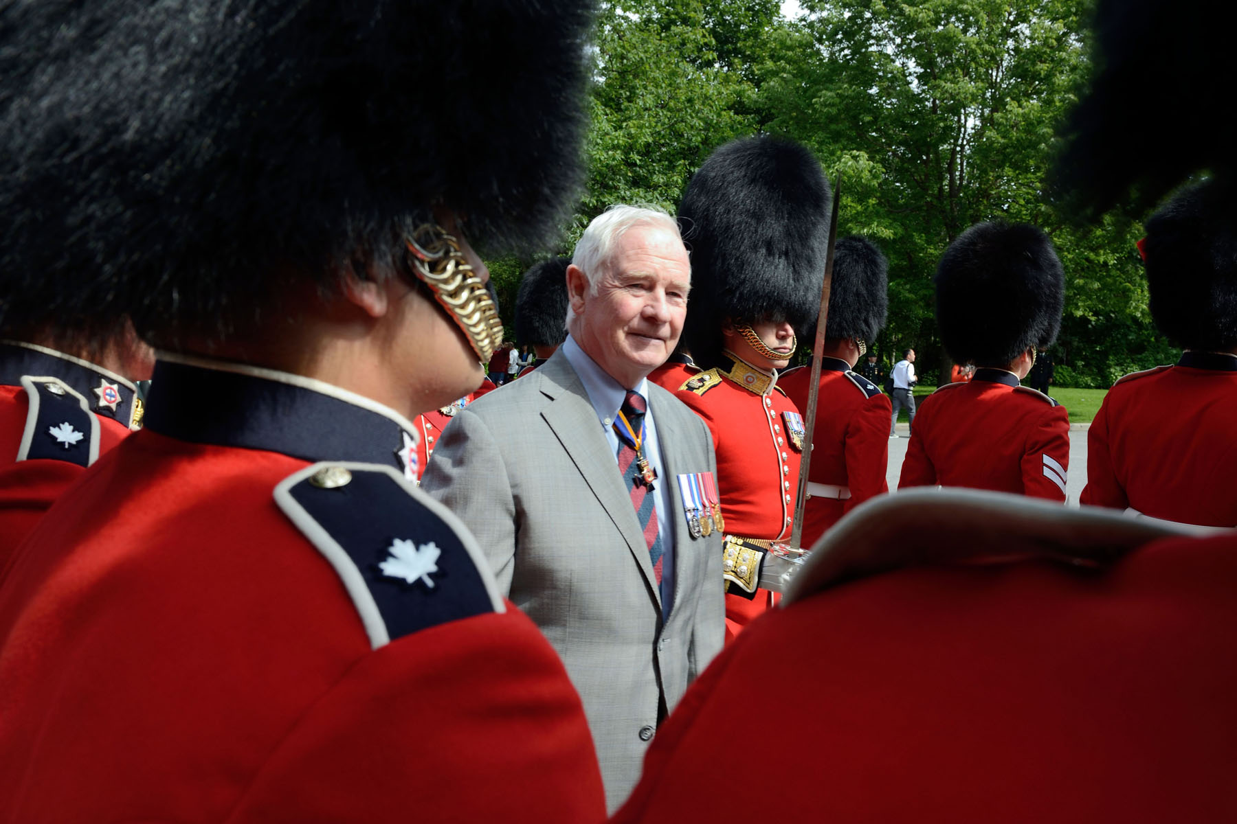 Over the course of the summer, visitors can come to Rideau Hall and witness the pageantry, precision and colour of the Relief of the Sentries, which runs from June 24 to August 24, every hour, on the hour, from 9 a.m. to 5 p.m.