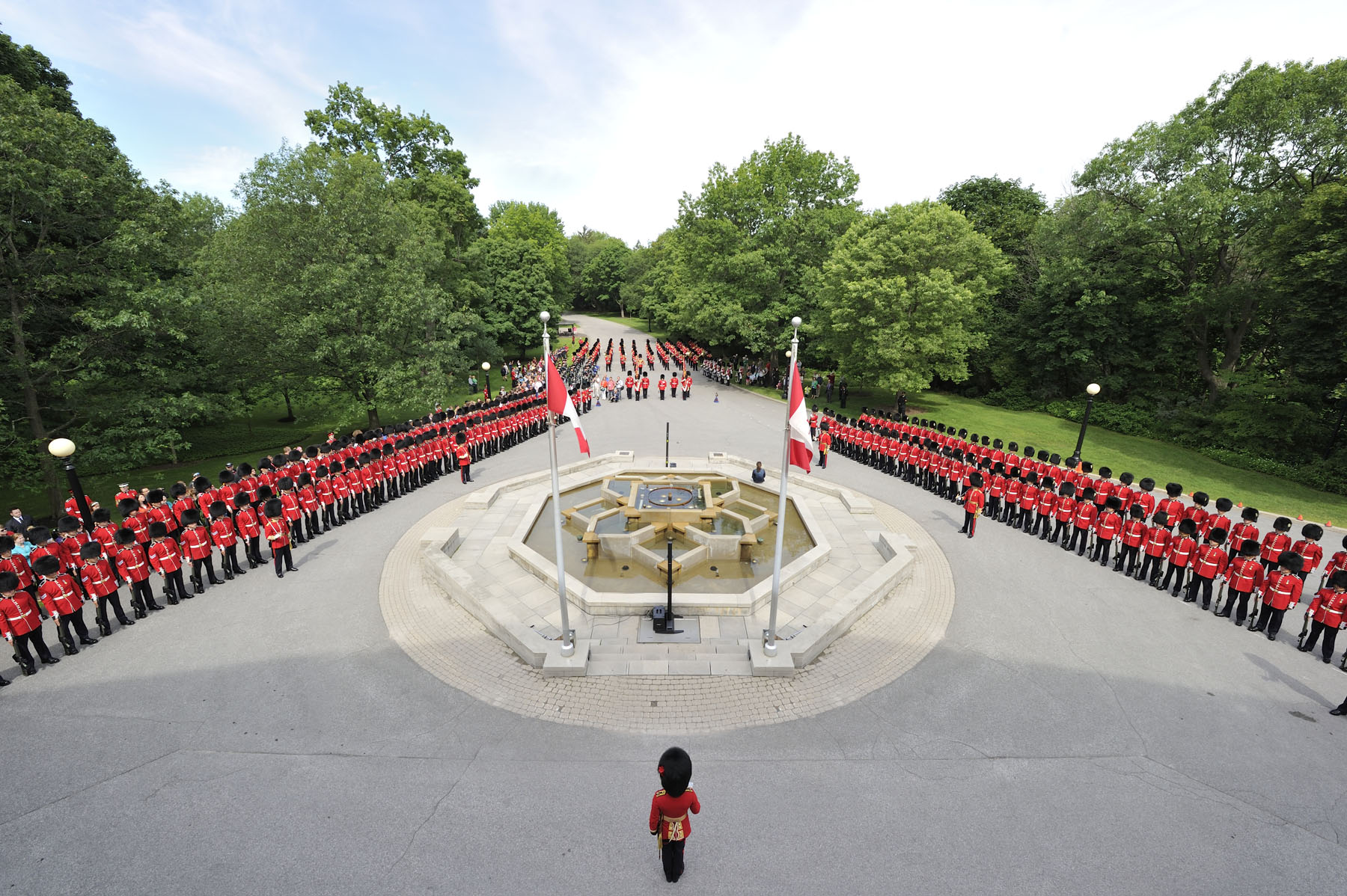 The Ceremonial Guard is a unit of the Canadian Forces that performs a variety of public duties in Ottawa between late June and the end of August.