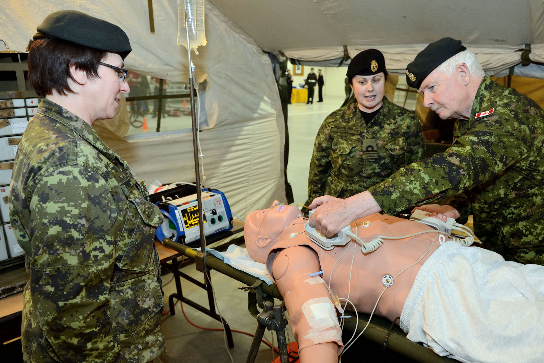 The Canadian Forces Health Services Training Centre is also situated at CFB Borden.