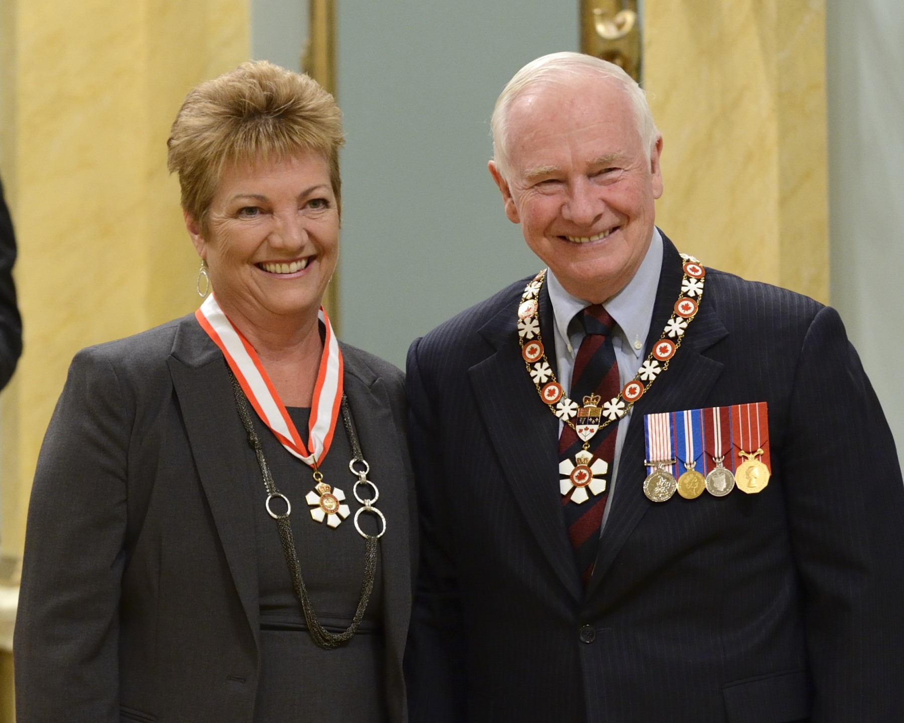 staunch defender of all things Canadian, The Honourable Sheila Copps ...