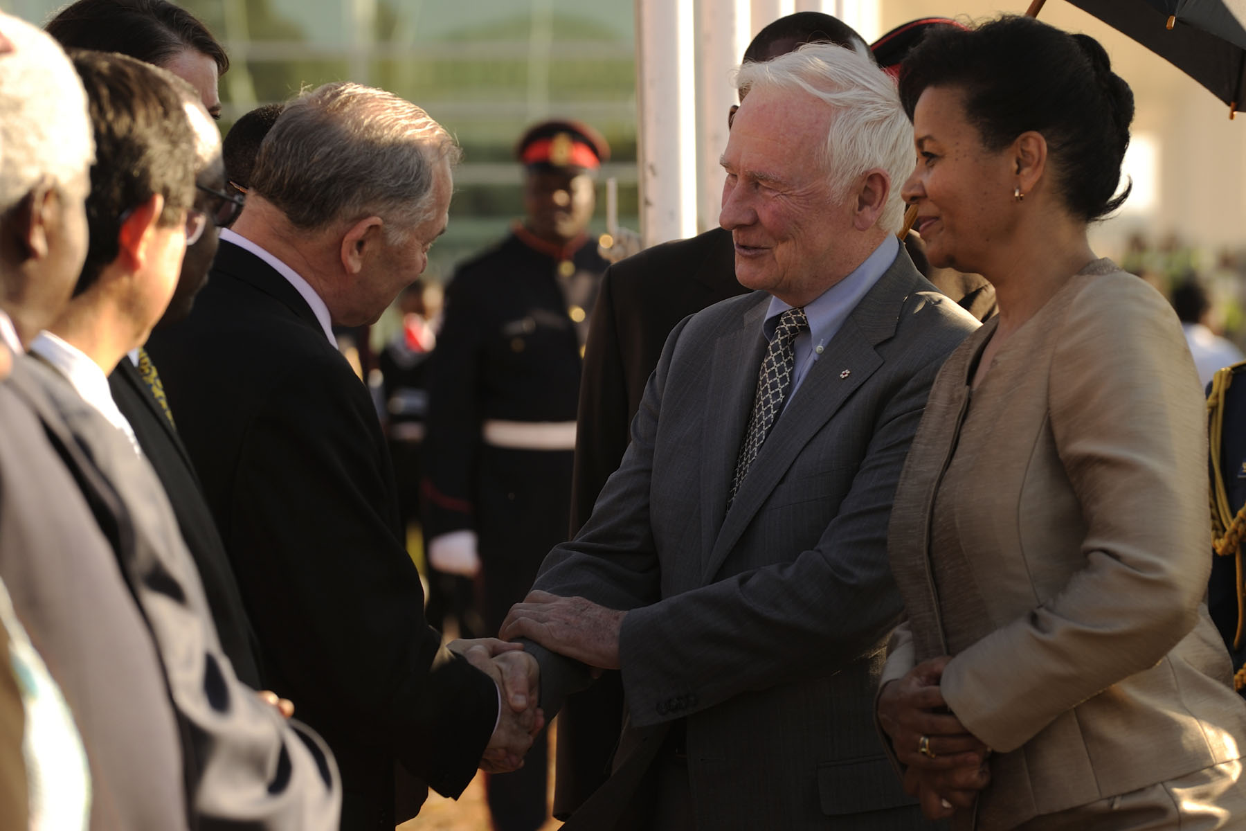 Visits abroad by a governor general play an important role in Canada's relations with other countries. They are highly valuable as they help broaden bilateral relations and exchanges among peoples.