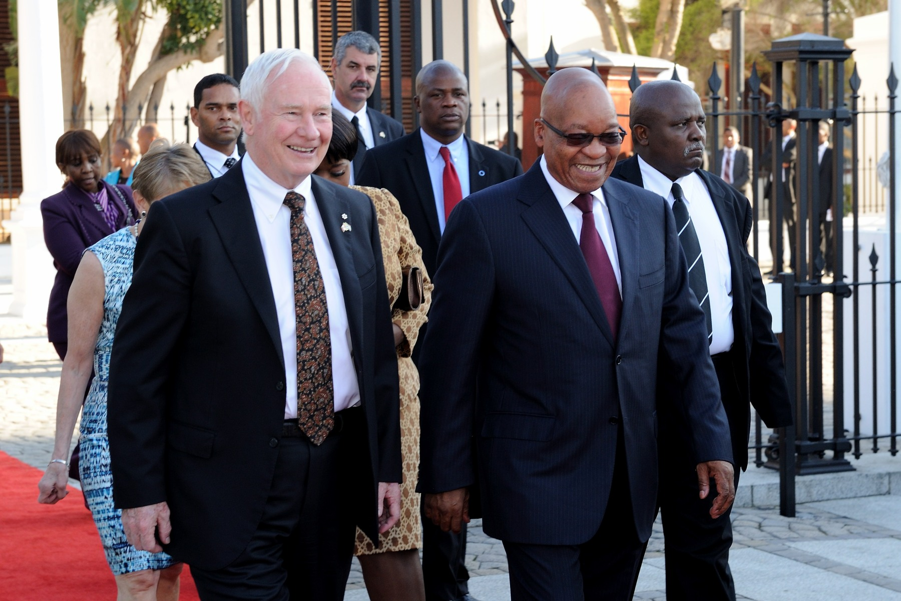 During their time together, the Governor General and the President spoke about the potential for increasing ties between Canada and South Africa in business, investment and, particularly, international education and science co-operation.