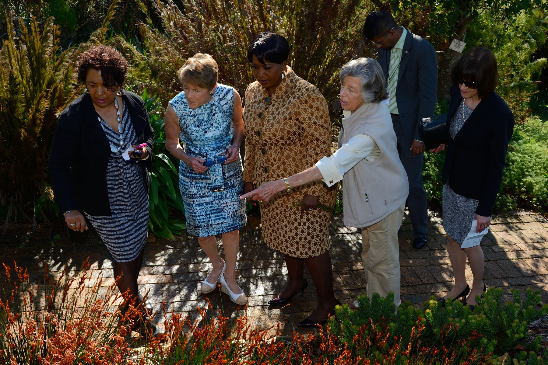 During Her Excellency's tour, she heard about the work that Canada has supported through the South African Department of Treasury and the National Biodiversity Institute, in such areas as leadership development and change management.