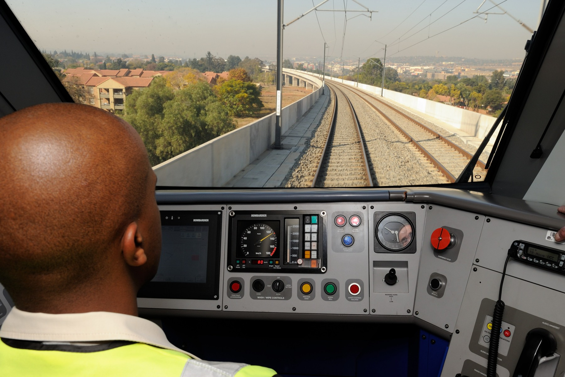 Bombardier, as part of the Bombela Consortium, is the builder of this high-speed commuter rail service that travels between the central business districts of Johannesburg and Pretoria.