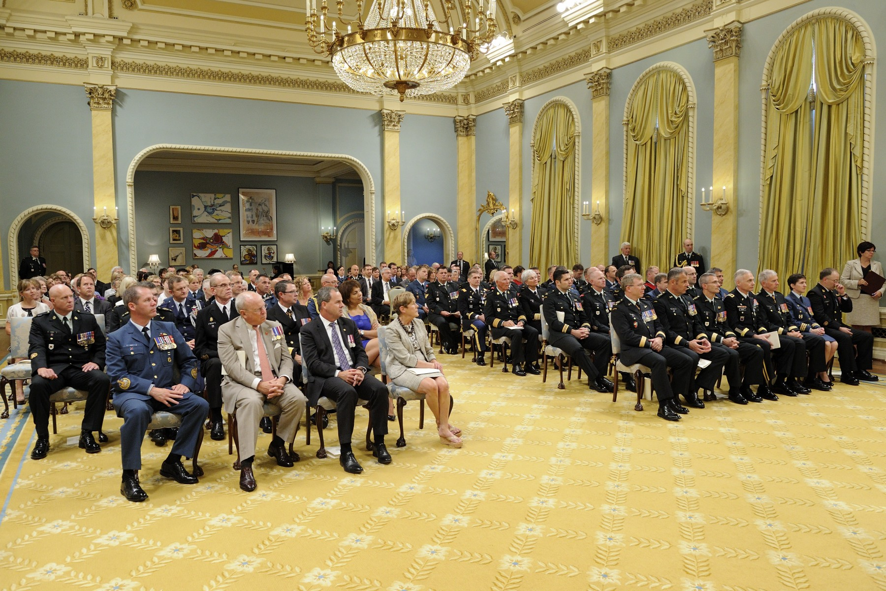 The Meritorious Service Decorations are an important part of the Canadian Honours System, which recognizes excellence. Meritorious Service Decorations honour either a single achievement or an activity over a specified period. The Meritorious Service Decorations are open to both Canadians and non-Canadians.