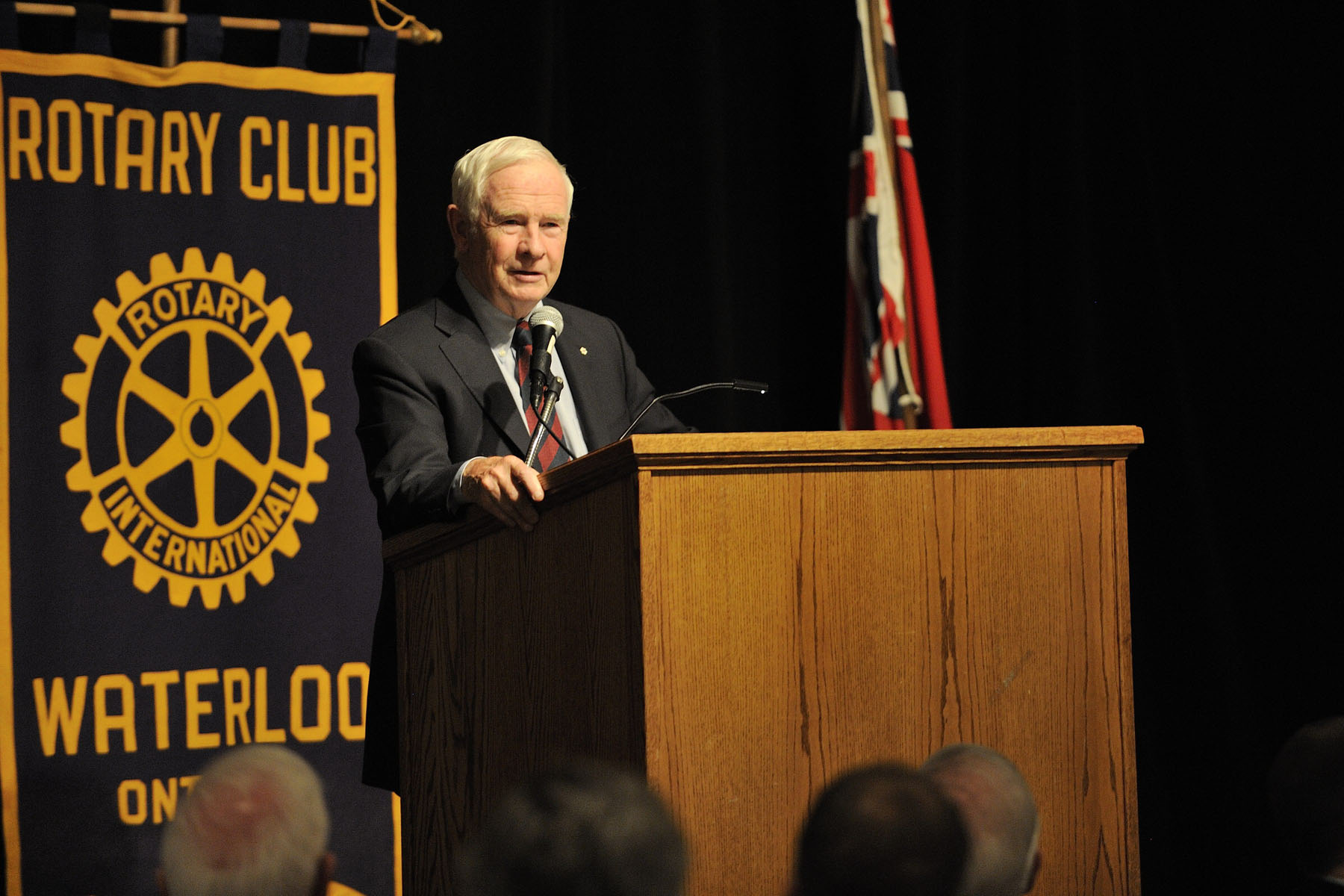 The Rotary Club of Waterloo is an organization of dedicated men and women who give freely of their time and talents to help those in need in the local and global community. It raises funds through various activities in the community that are donated to the many organizations they support. The Rotary Club of Waterloo was chartered in 1963.