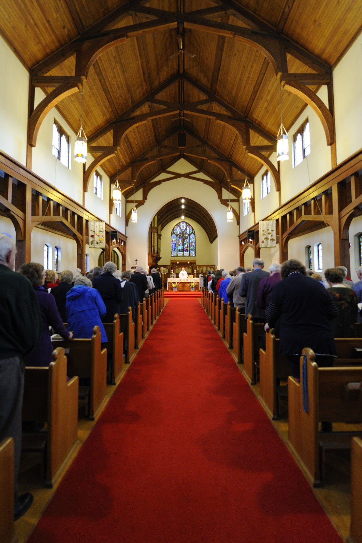 Celebrating its centenary this year, the Cathedral Church of St. Michael and All Angels is the mother church of the Diocese of Kootenay.