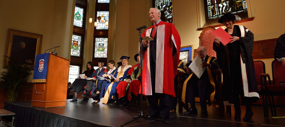 McGill Installation Ceremony