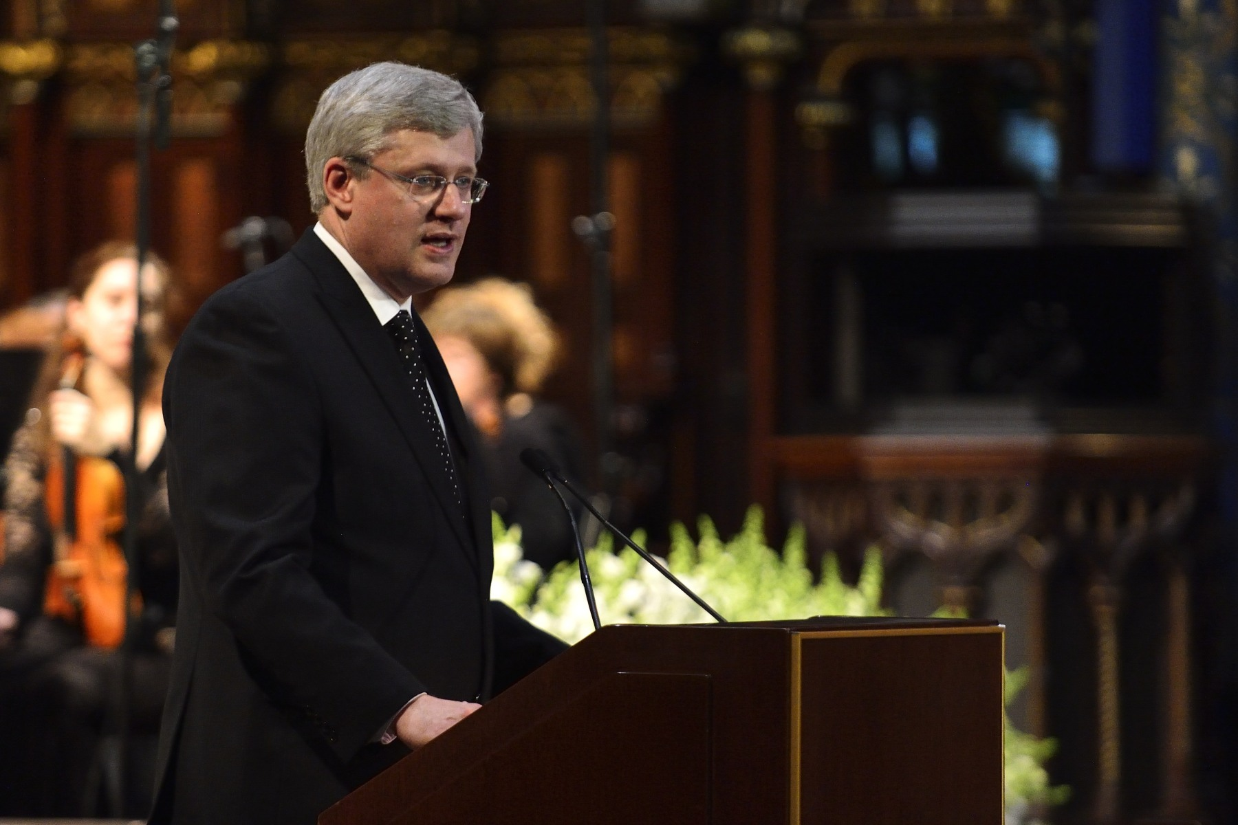 The Right Honourable Stephen Harper, Prime Minister of Canada, paid tribute to Paul G. Desmarais.