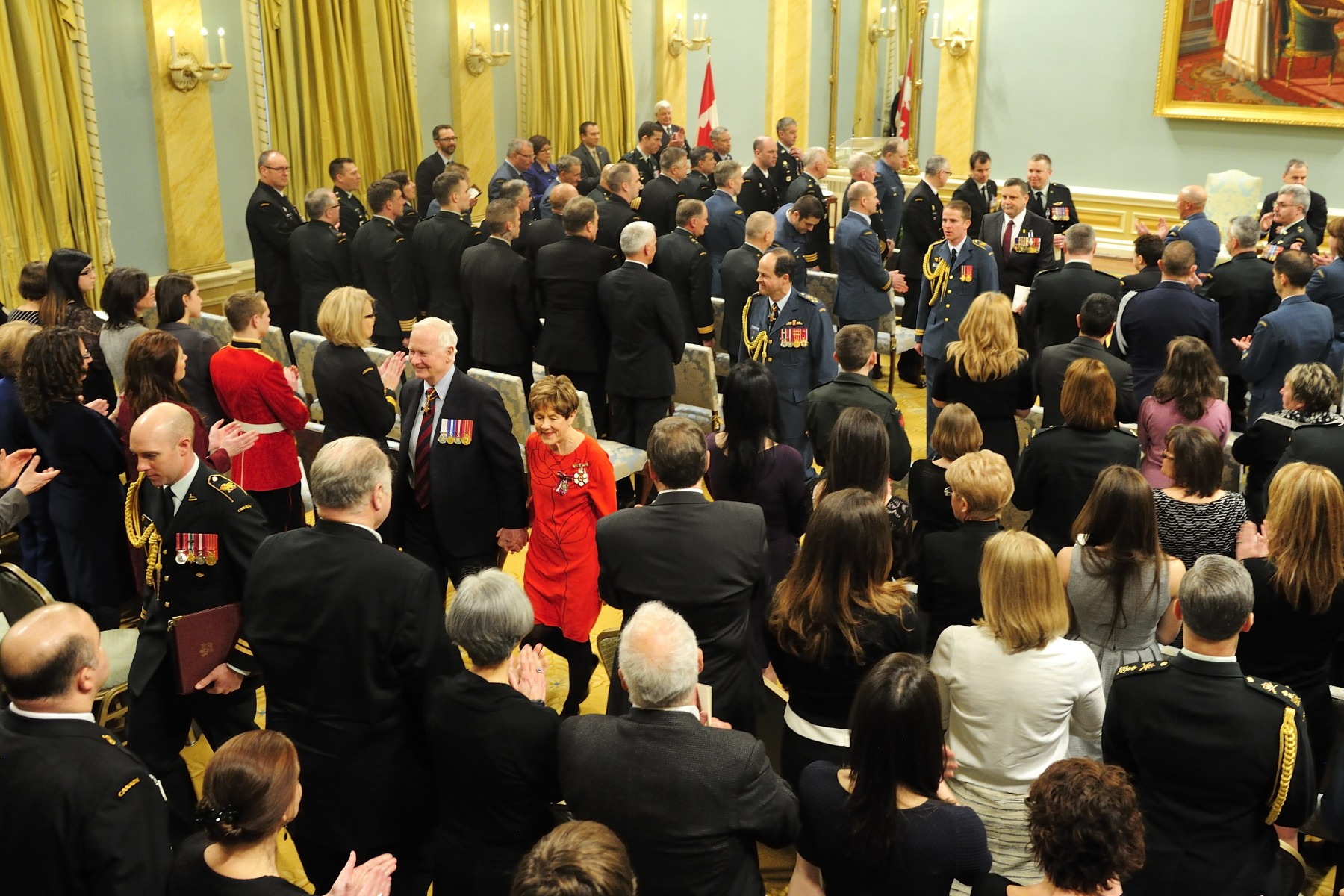 These decorations are an important part of the Canadian Honours System, which recognizes excellence. Meritorious Service Decorations honour either a single achievement or an activity over a specified period. The Meritorious Service Decorations are open to both Canadians and non-Canadians.