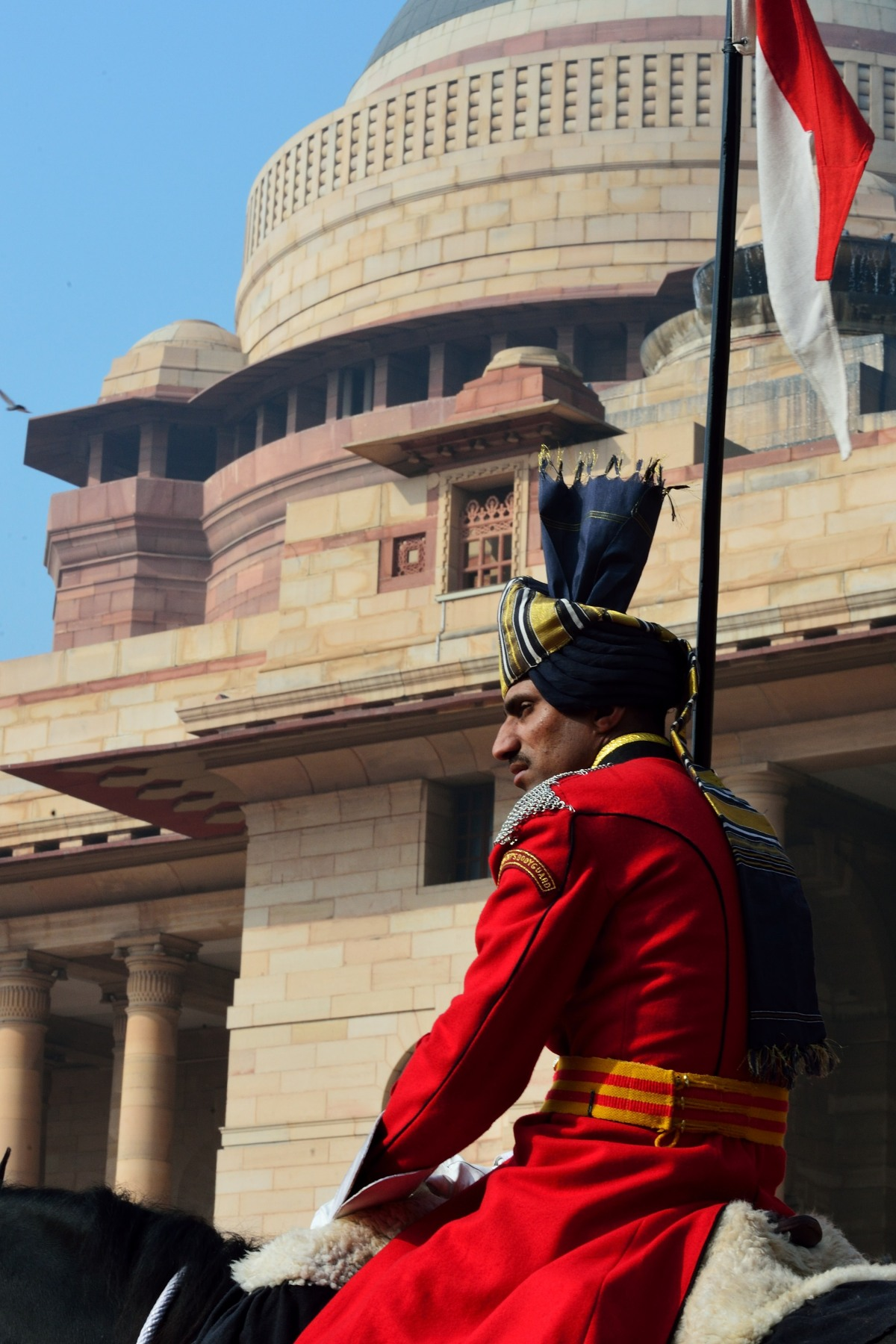 Rashtrapati Bhavan is the official residence of the President of the Republic of India.