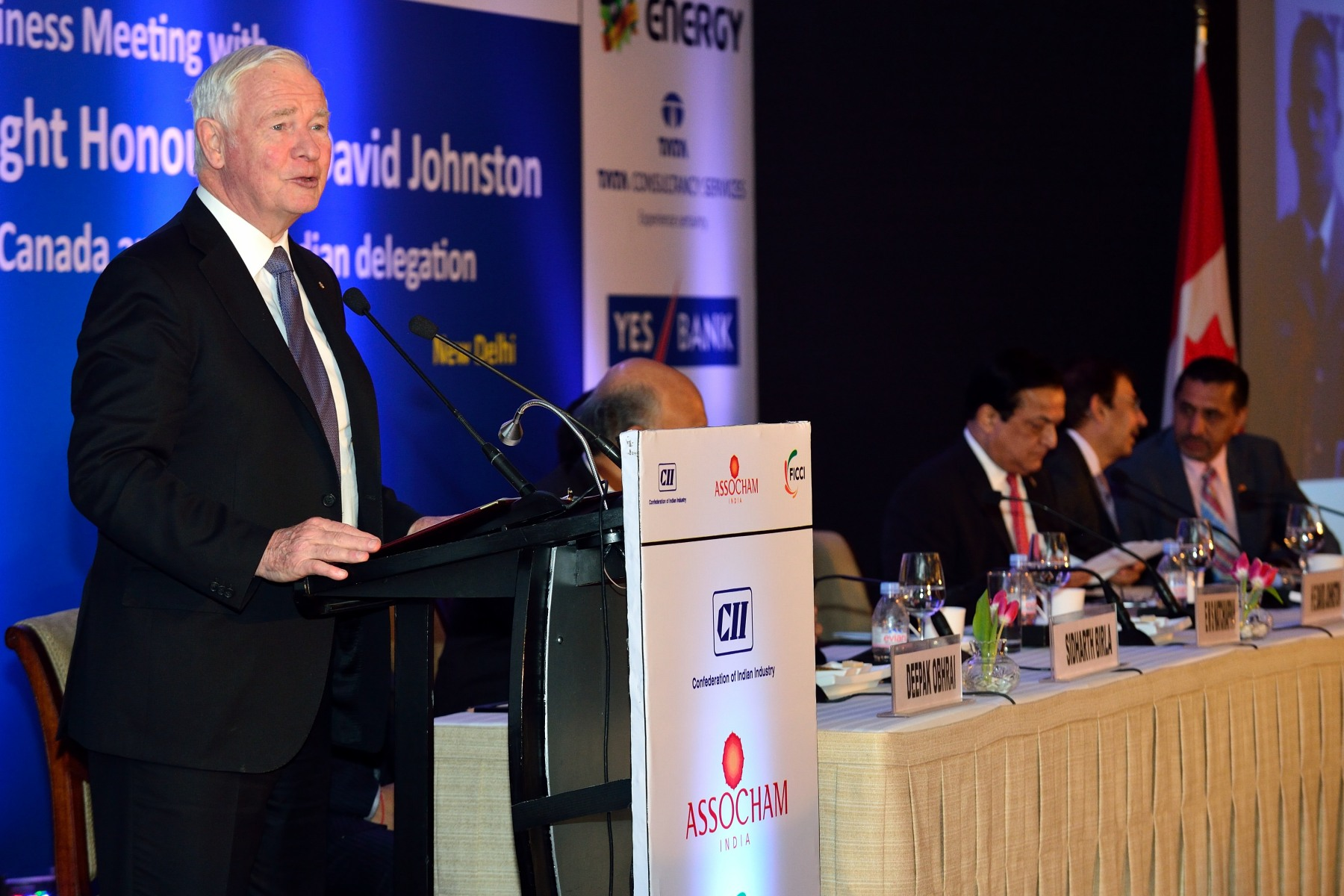 On this occasion, the Governor General delivered an address on Canada-India business relations to business leaders.