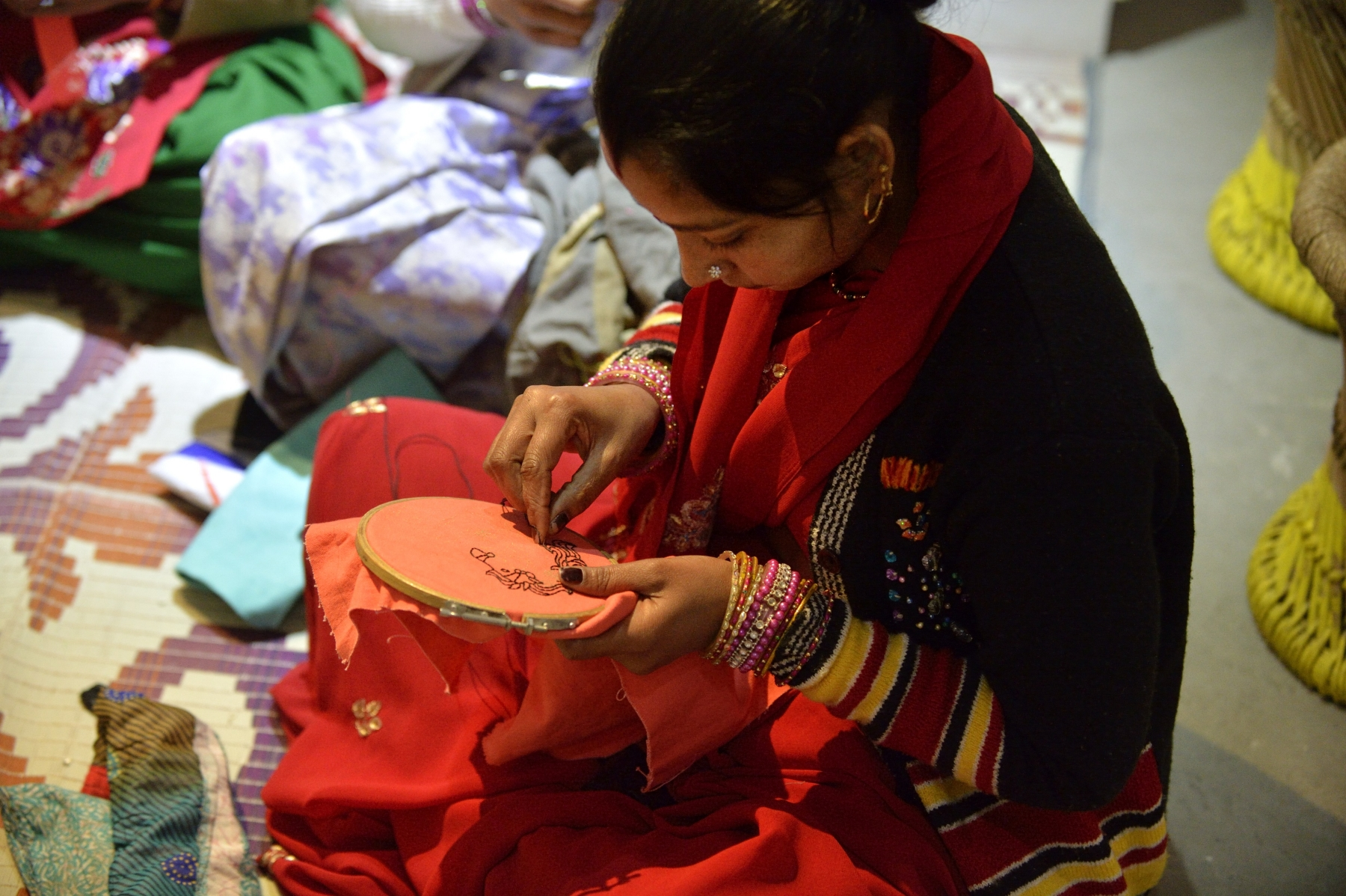 Through fair payment means, SEWA is ensuring that handiwork traditions are not lost.