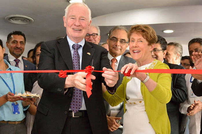 Their Excellencies inaugurated the BIL-Ryerson DMZ India, an incubation centre for entrepreneurs supported by the Bombay Stock Exchange Institute, Ryerson University and Simon Fraser University.