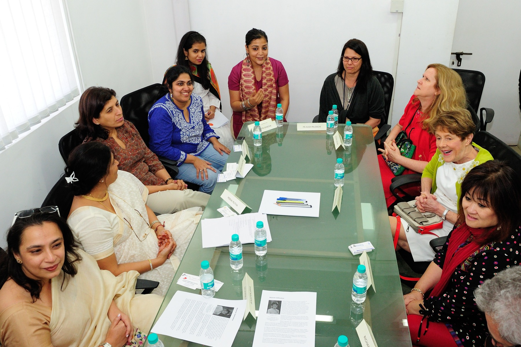 Her Excellency visited Dasra's offices to learn about its unique ability to work with both philanthropists and social entrepreneurs and bring together knowledge, funding and people to catalyze social change.