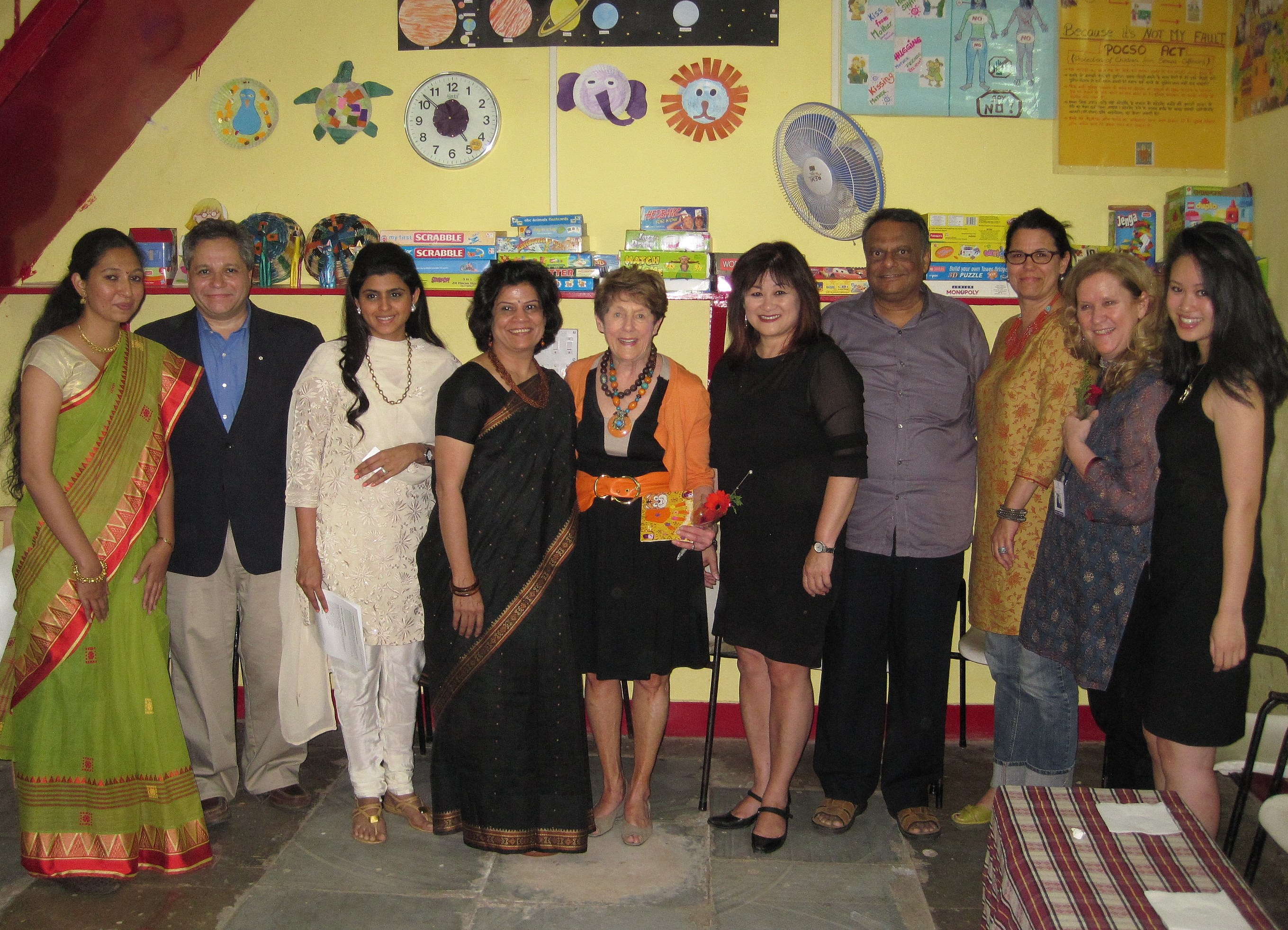 Photo of Her Excellency with Apne Ap representatives and members of the Canadian delegation. The Consulate General of Canada in Mumbai recently facilitated funding for the Udaan program through an association of expatriate spouses called Mumbai Connexions.