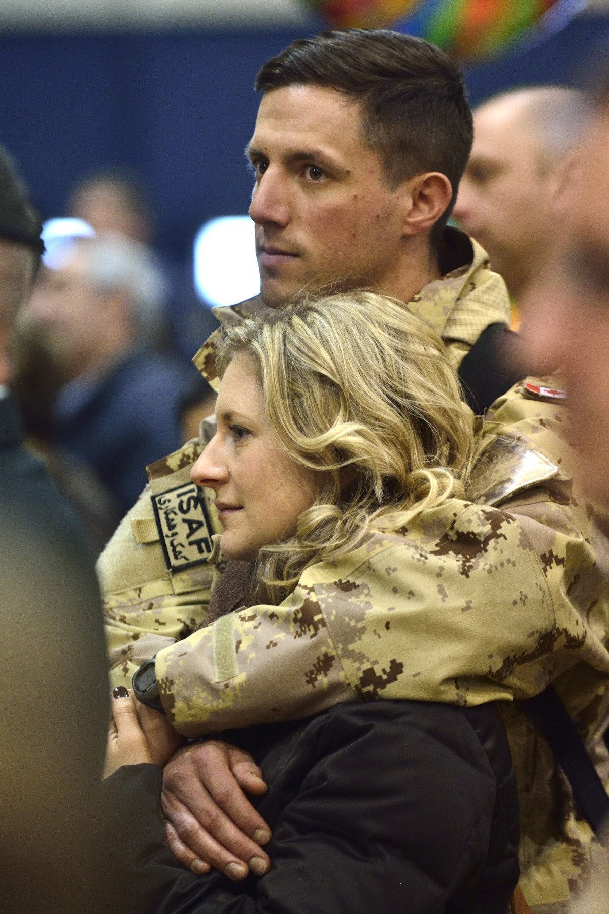 Loved ones and family members were on-site to welcome the 84 members of the Canadian Armed Forces home from Afghanistan.