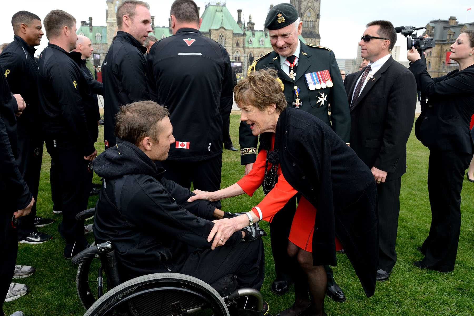 It was also an opportunity to thank family members, friends and all Canadians for their tremendous support. Finally, the day recognized the sacrifices made by the families of the fallen.