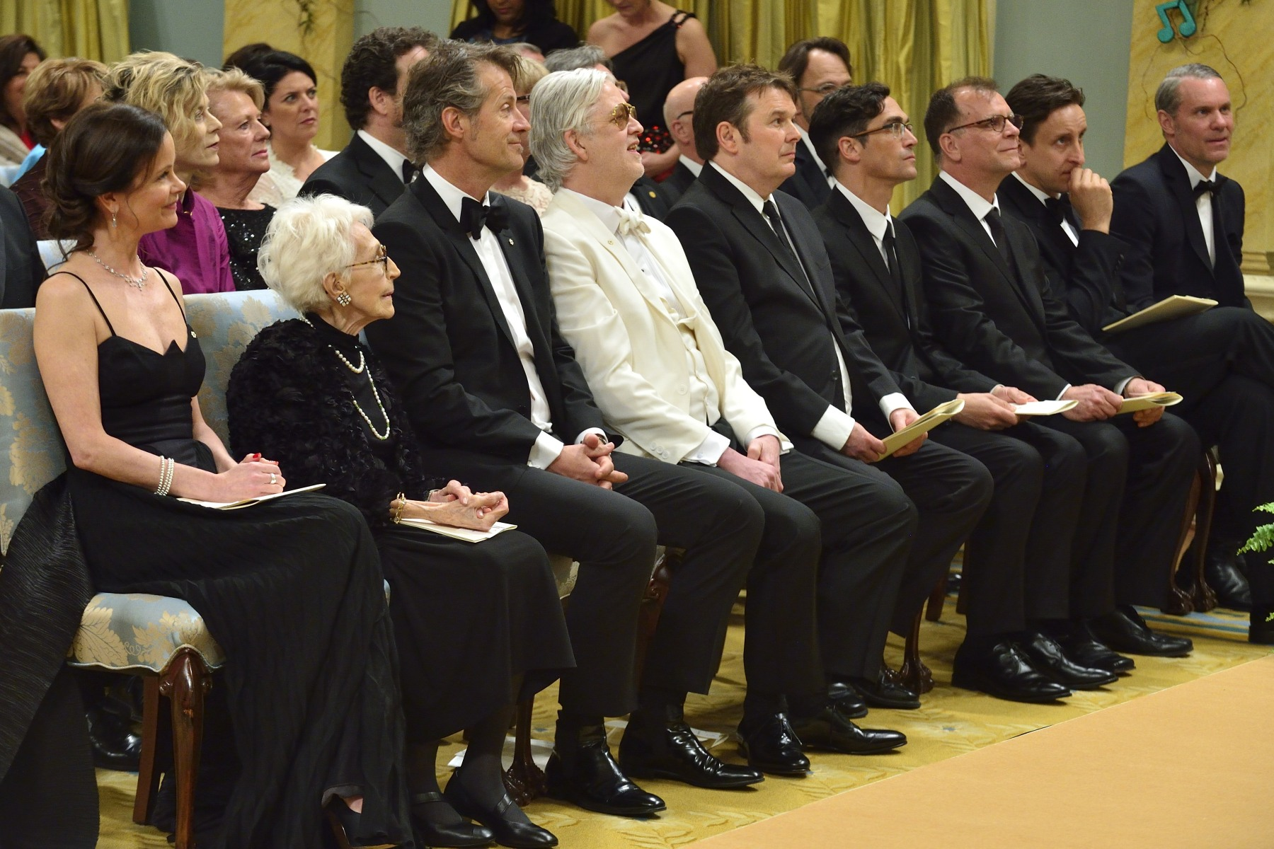 Their Excellencies presented the 2014 Governor General's Performing Arts Awards (GGPAA) during a ceremony at Rideau Hall.