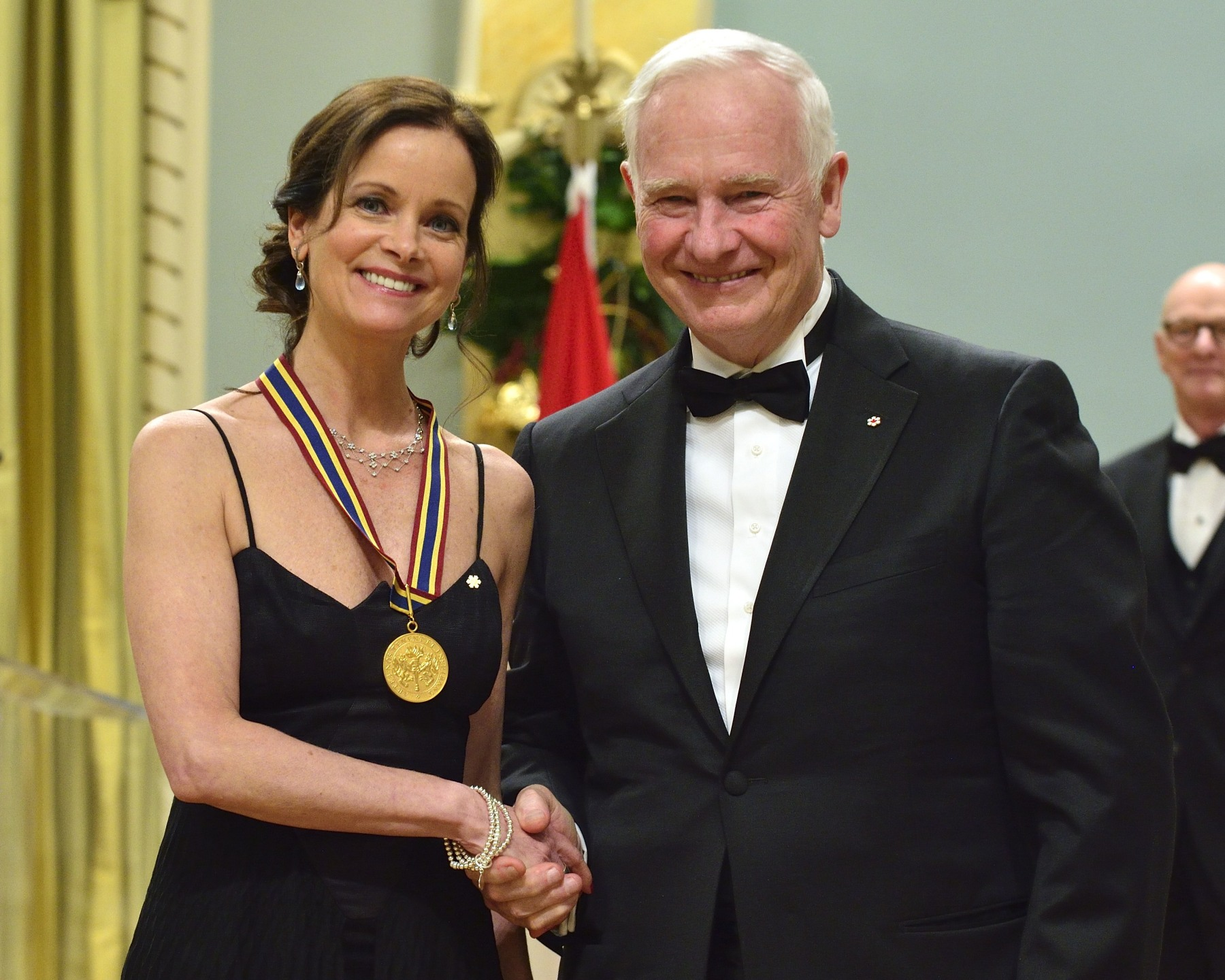 Ms. Anik Bissonnette, dancer, teacher and artistic director, received a GGPAA for Lifetime Artistic Achievement Award.