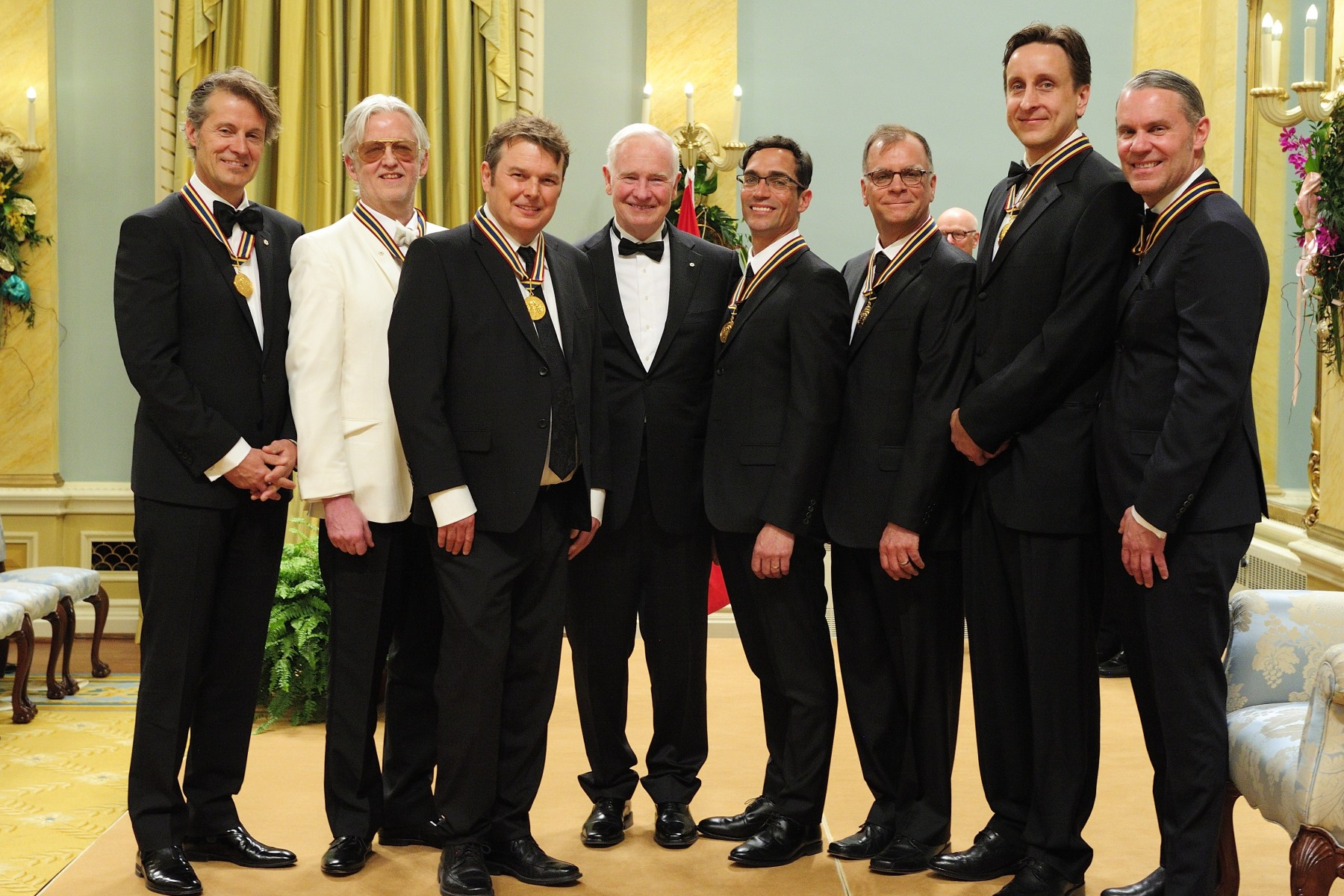 The rock band Blue Rodeo received a GGPAA for Lifetime Artistic Achievement Award.