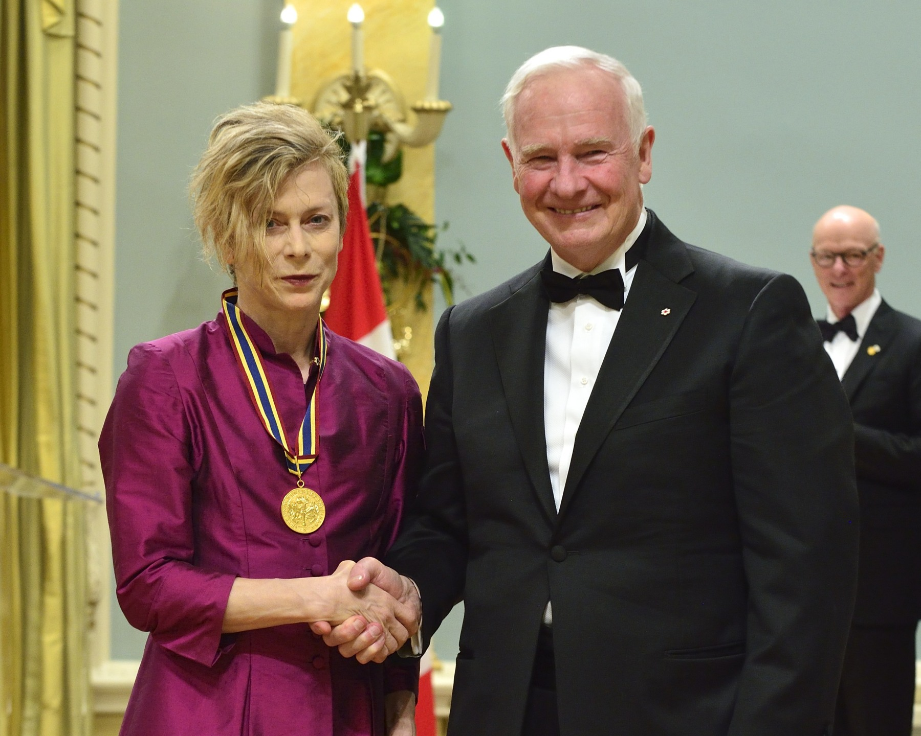 Ms. Louise Lecavalier, dancer and choreographer, received a GGPAA for Lifetime Artistic Achievement Award.