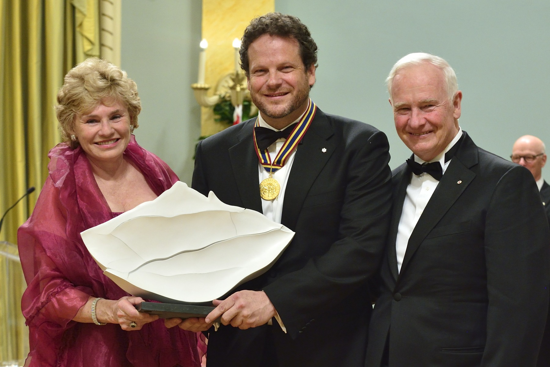 Mr. Albert Schultz, actor, director and artistic director, received the National Arts Centre Award which recognizes the work of an extraordinary nature by an individual artist or company in the past performance year.