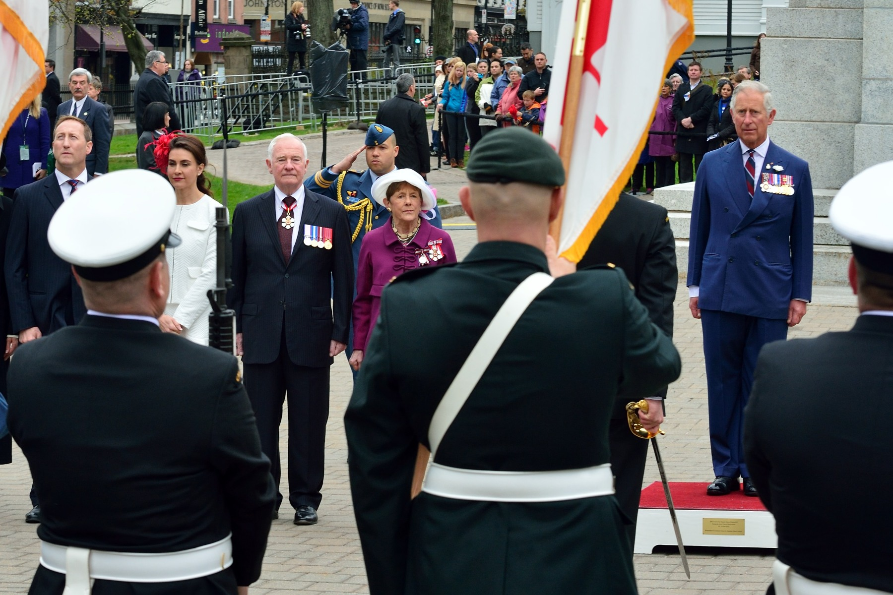 The Prince of Wales has been visiting Canada for almost 45 years. He has visited Canada from coast to coast to coast.