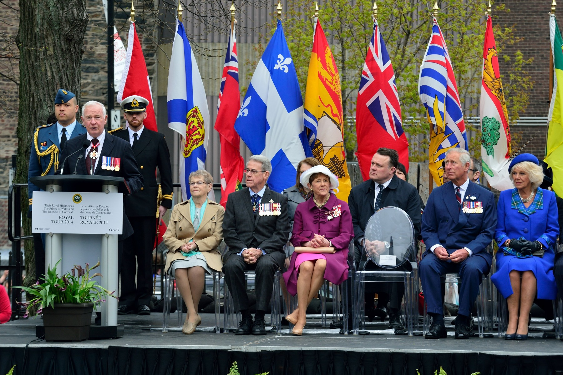 """We are particularly delighted to greet you on Victoria Day, which Canadians have been celebrating since 1845—back when Canada itself was just a province!,"" said His Excellency. ""This holiday is a reminder of the deep and enduring ties that exist between Canadians and the Royal Family. It is a connection that Your Royal Highnesses are committed to strengthening."""
