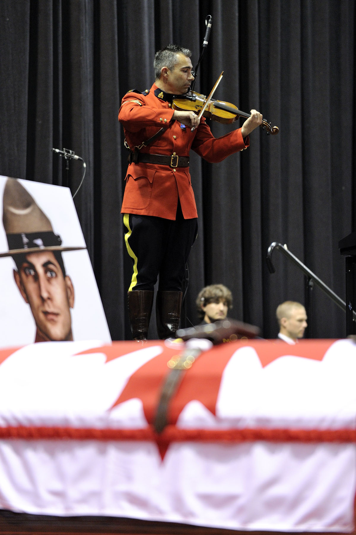 Codiac Rcmp Search For 2 Missing 14 Year Old Girls: The Governor General Of Canada > Photos > Funeral For
