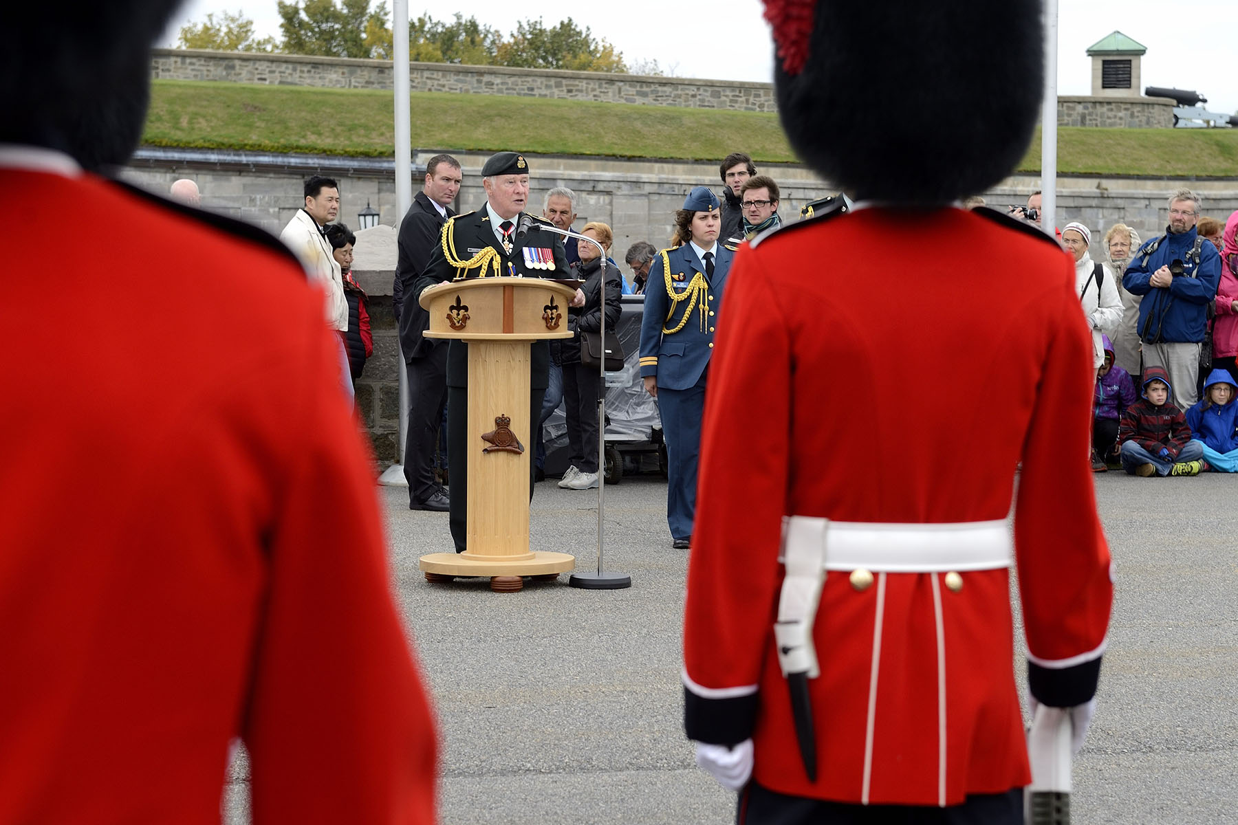 """Today is a perfect opportunity to celebrate this anniversary, and to thank the Van Doos and every member of the Canadian Armed Forces for all that they do for this country,"" said the Governor General."