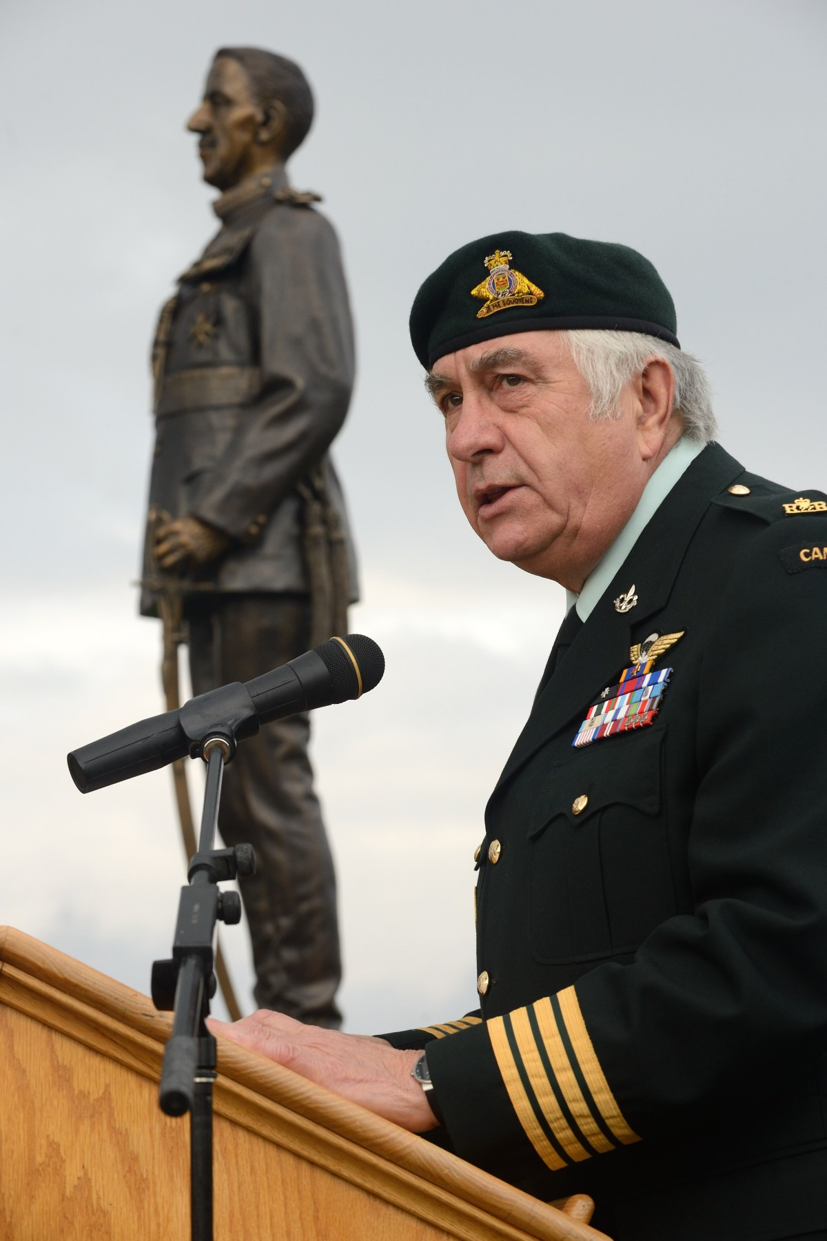 Major-General Forand also delivered remarks on this occasion.