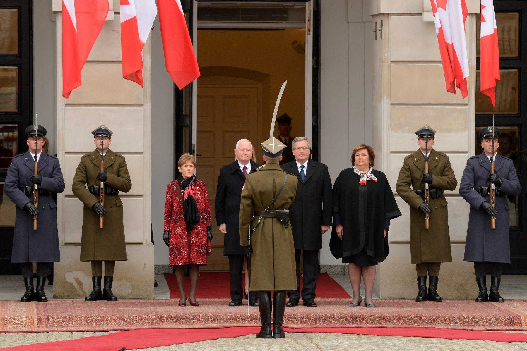 This is the second visit to Poland conducted by a governor general. The Right Honourable Adrienne Clarkson visited the country in 2005.