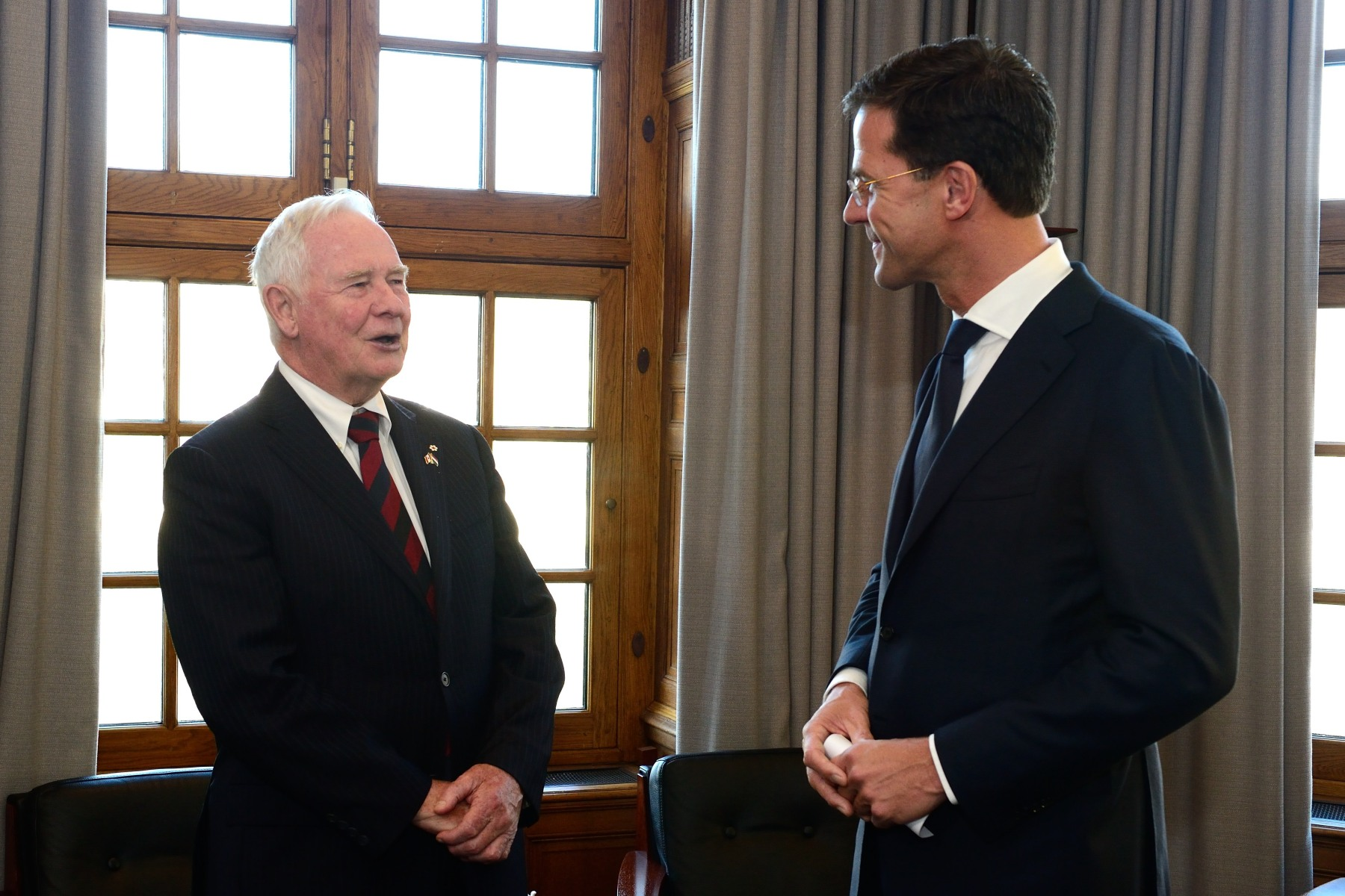 The Governor General also met with Prime Minister Mark Rutte to discuss issues of common interest to Canada and the Netherlands and the strong bilateral relationships between our two countries.