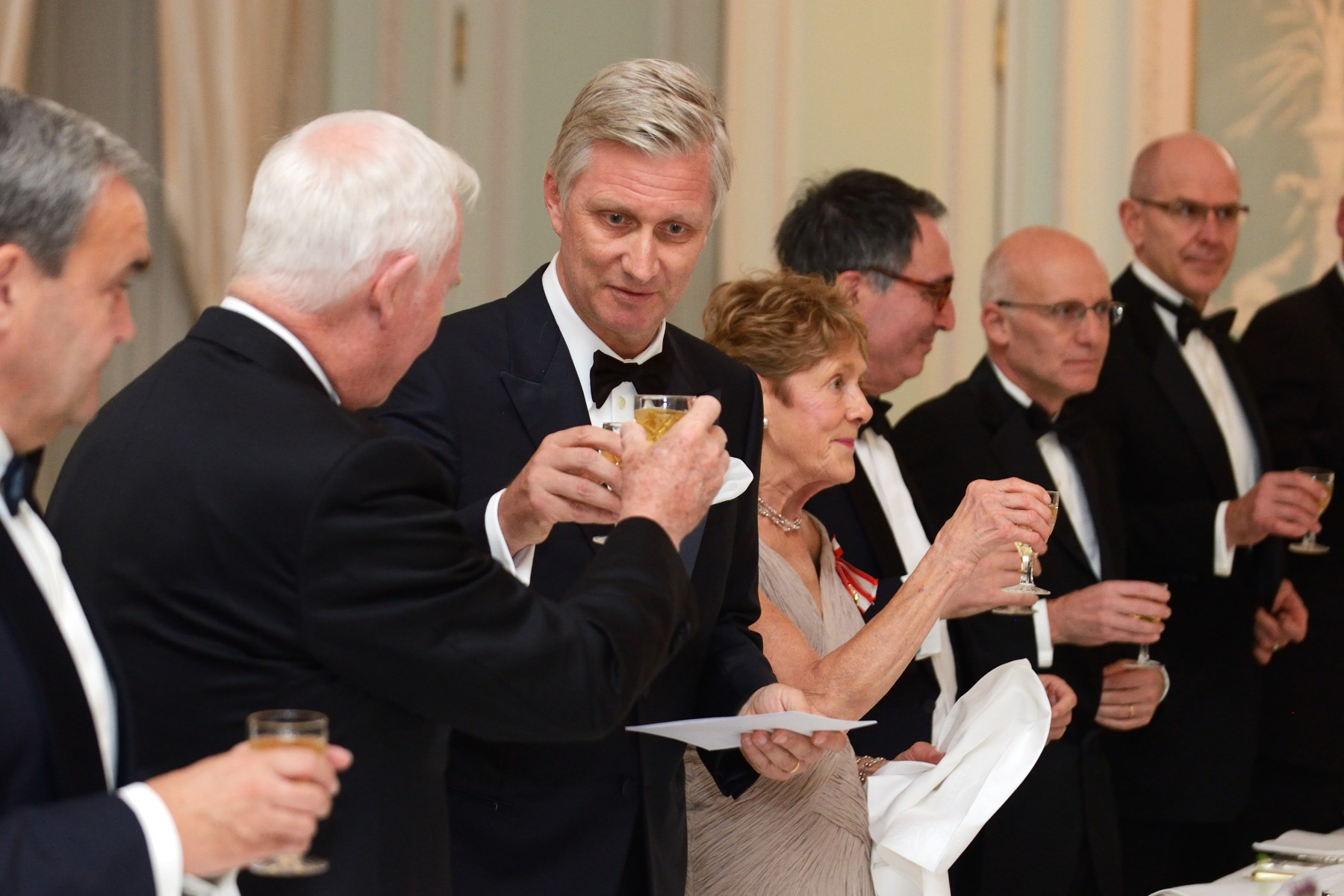 Both the Governor General and His Majesty King Philippe made a toast to Canada and Belgium.