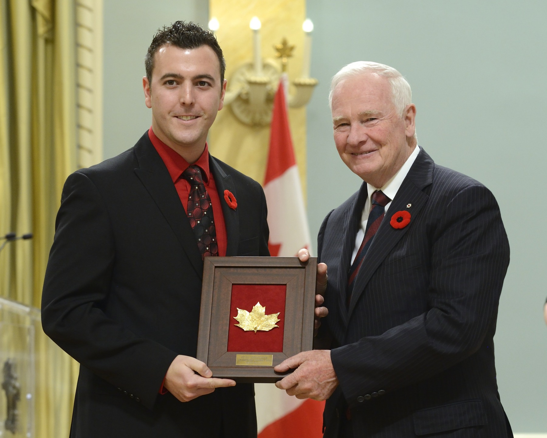Mr. Matt Kelly, Montague Regional High School, Montague, Prince Edward Island, received the SEVEC Ambassador of History Award.