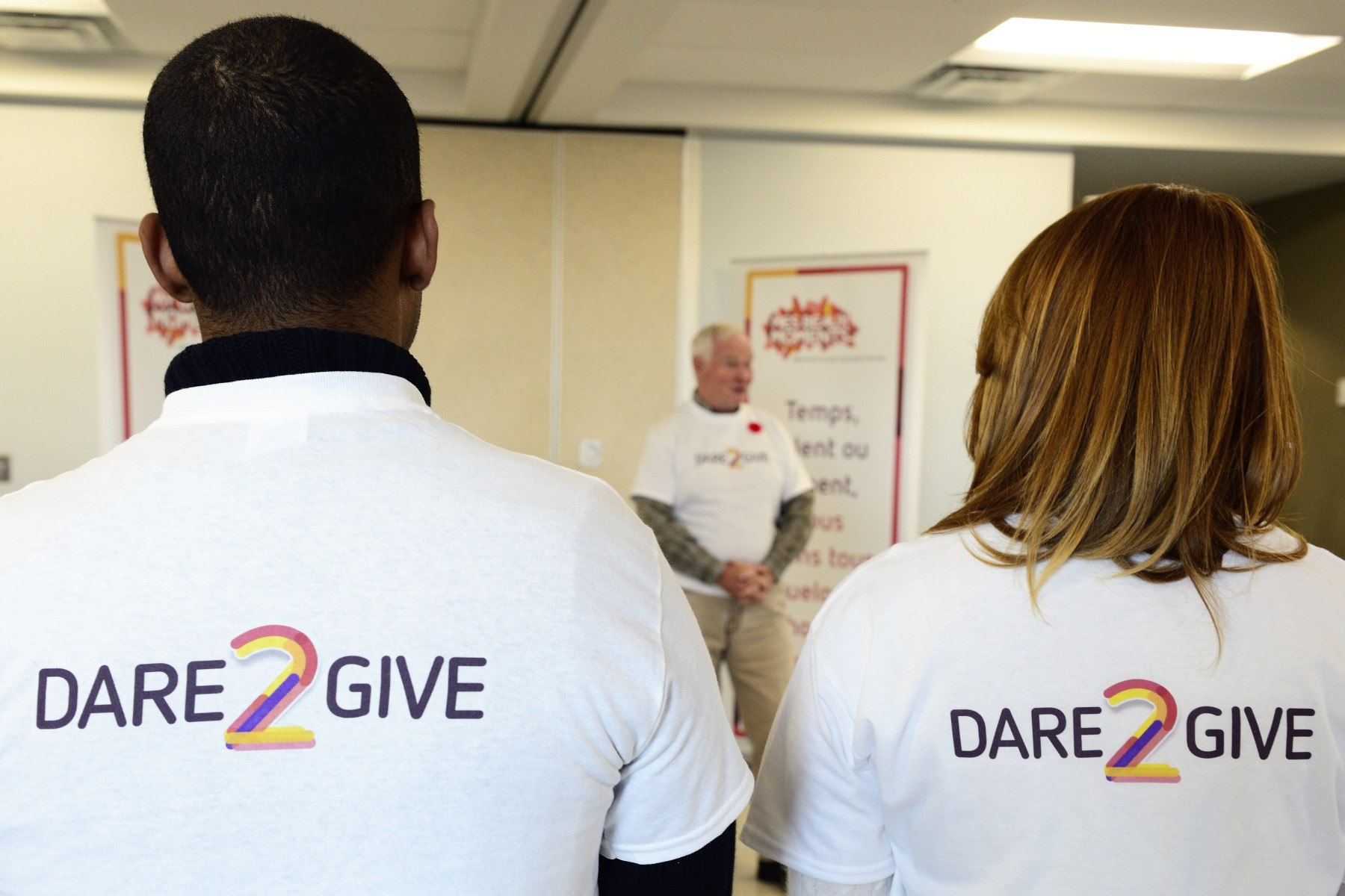 The Governor General was at the Ottawa Humane Society (OHS) for the official launch of the Dare2Give challenge, the latest in the My Giving Moment Campaign.