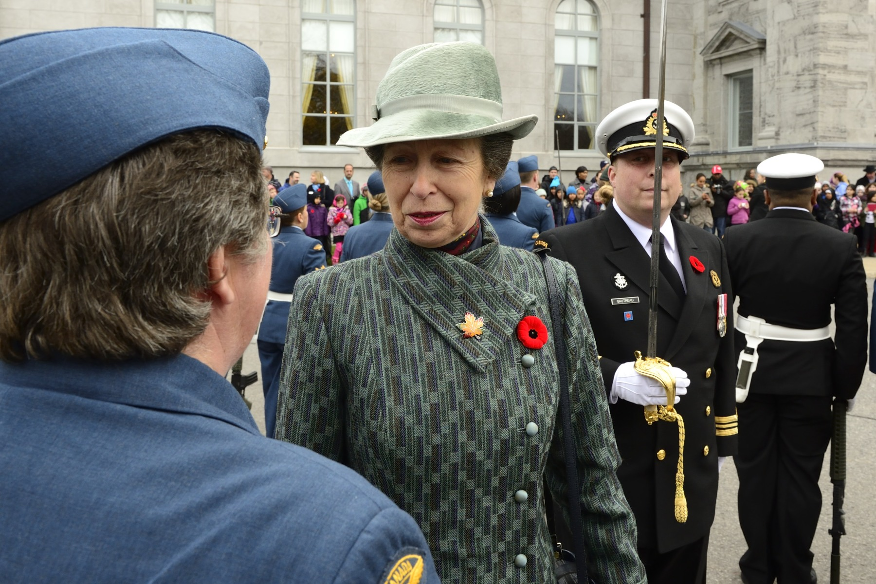 Members of the public were invited to attend the official welcoming ceremony at Rideau Hall.