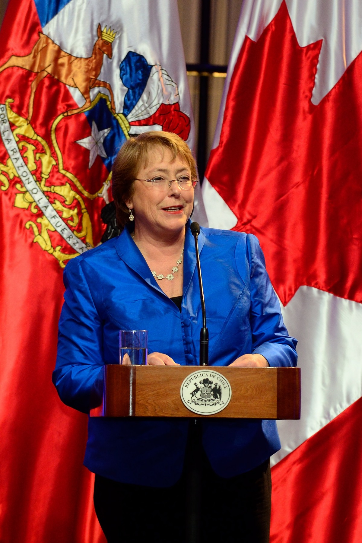 In 2006, Her Excellency Michelle Bachelet became Chile's first ever female president. Her first mandate ended in 2010. She was inaugurated as President of Chile for a second time on March 11, 2014, for the 2014-2018 period.